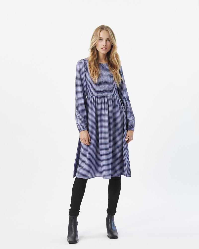 Moves Ivalani Short kjole, azur blue, 34