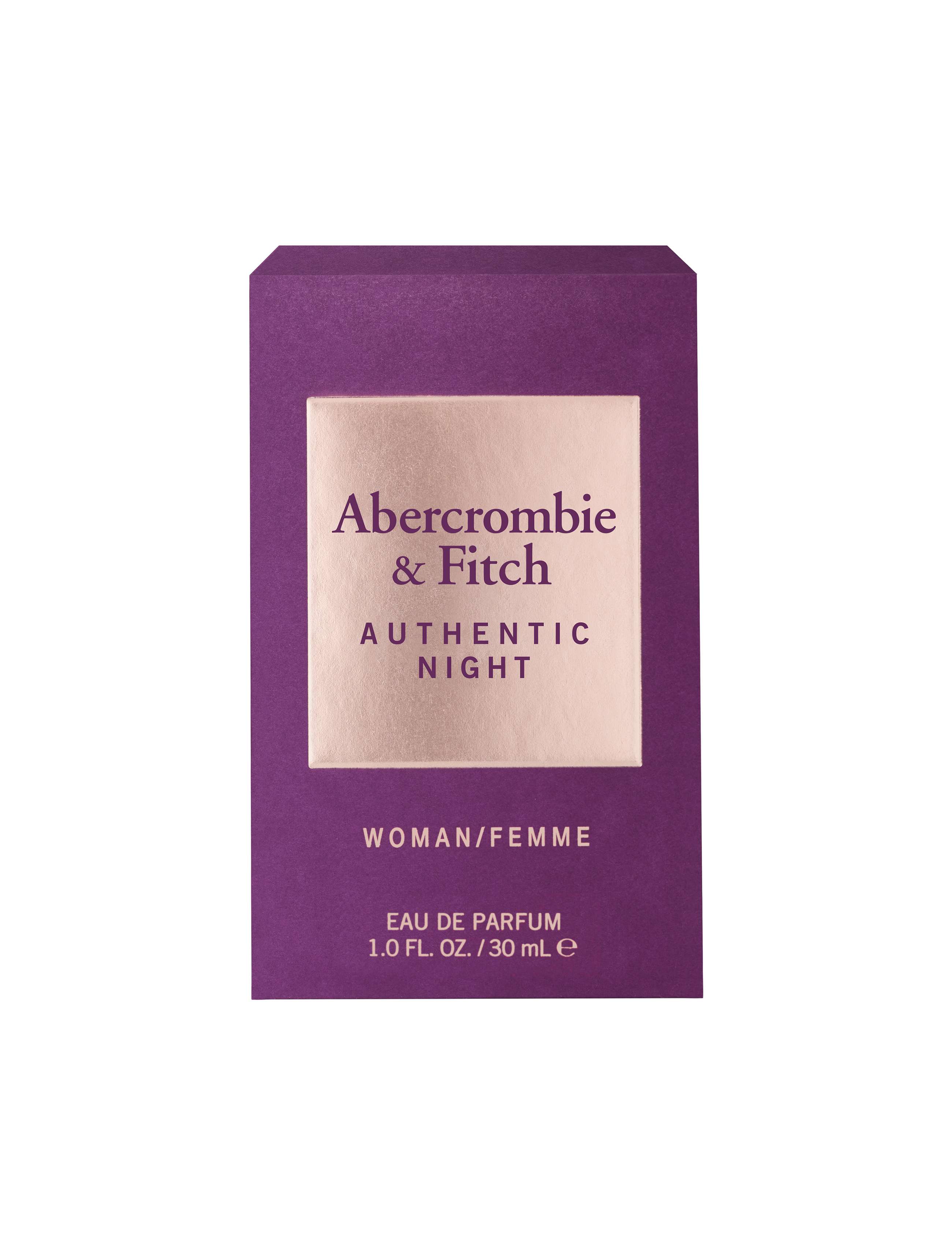 Abercrombie & Fitch Authentic Night Femme EDT, 30 ml