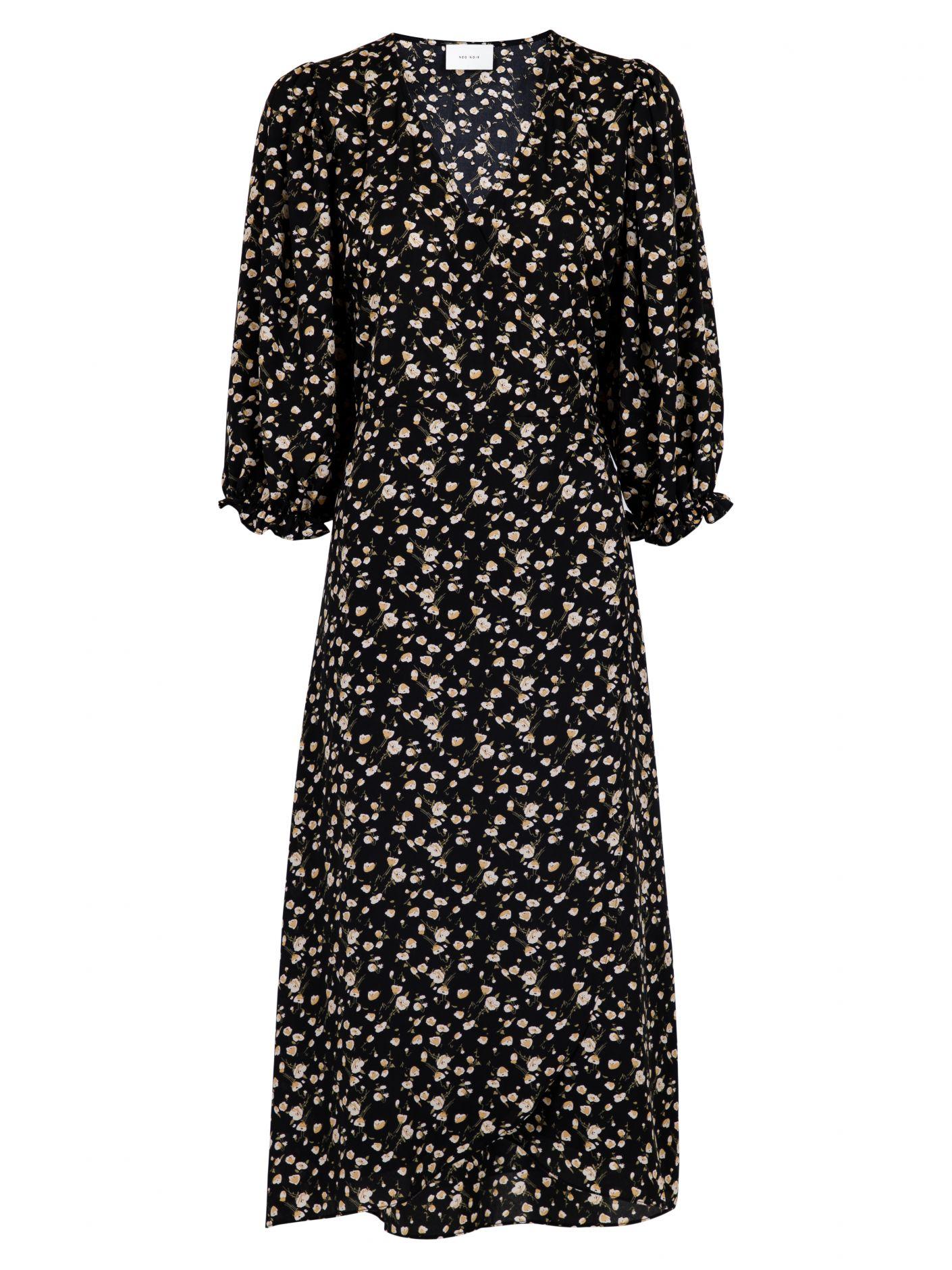 Neo Noir Carisma Flower kjole