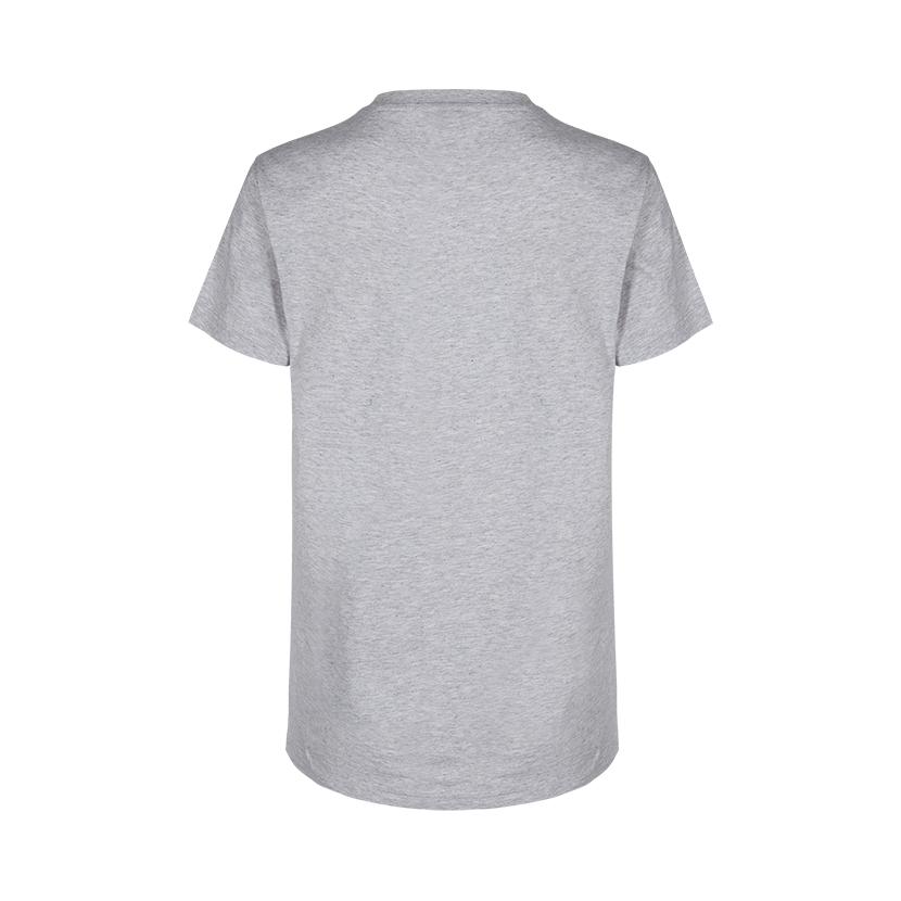 H2O Kerteminde t-shirt, light grey melange, small