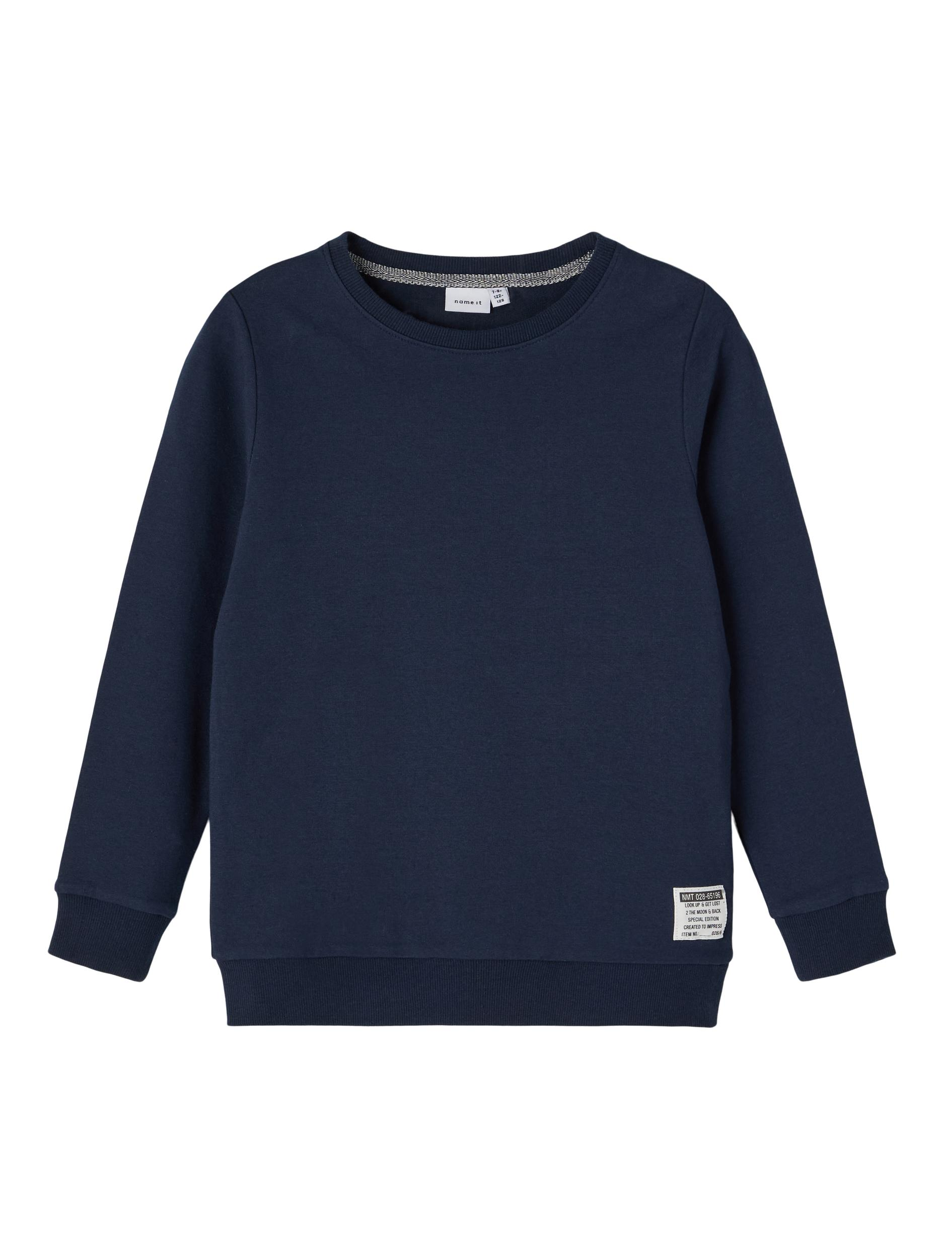 Name It Honk Sweatshirt, Dark Sapphire, 122-128