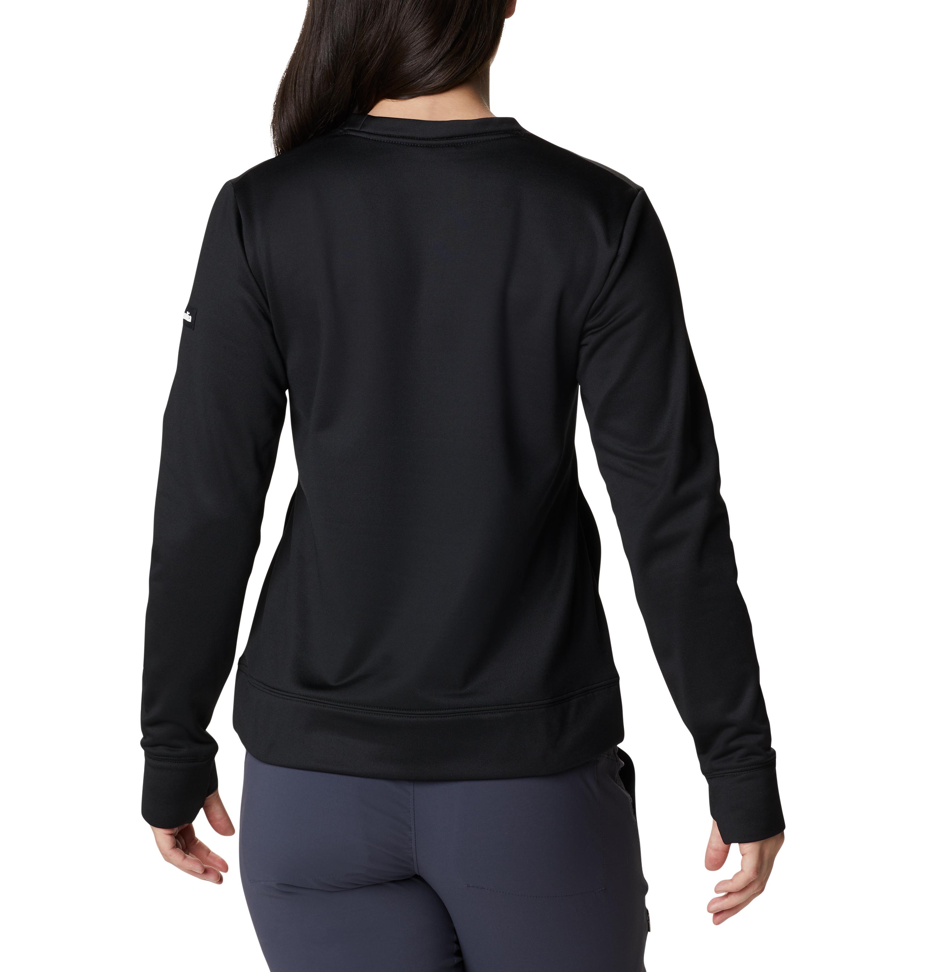 Columbia Windgates™ Tech Fleece pullover, black, small