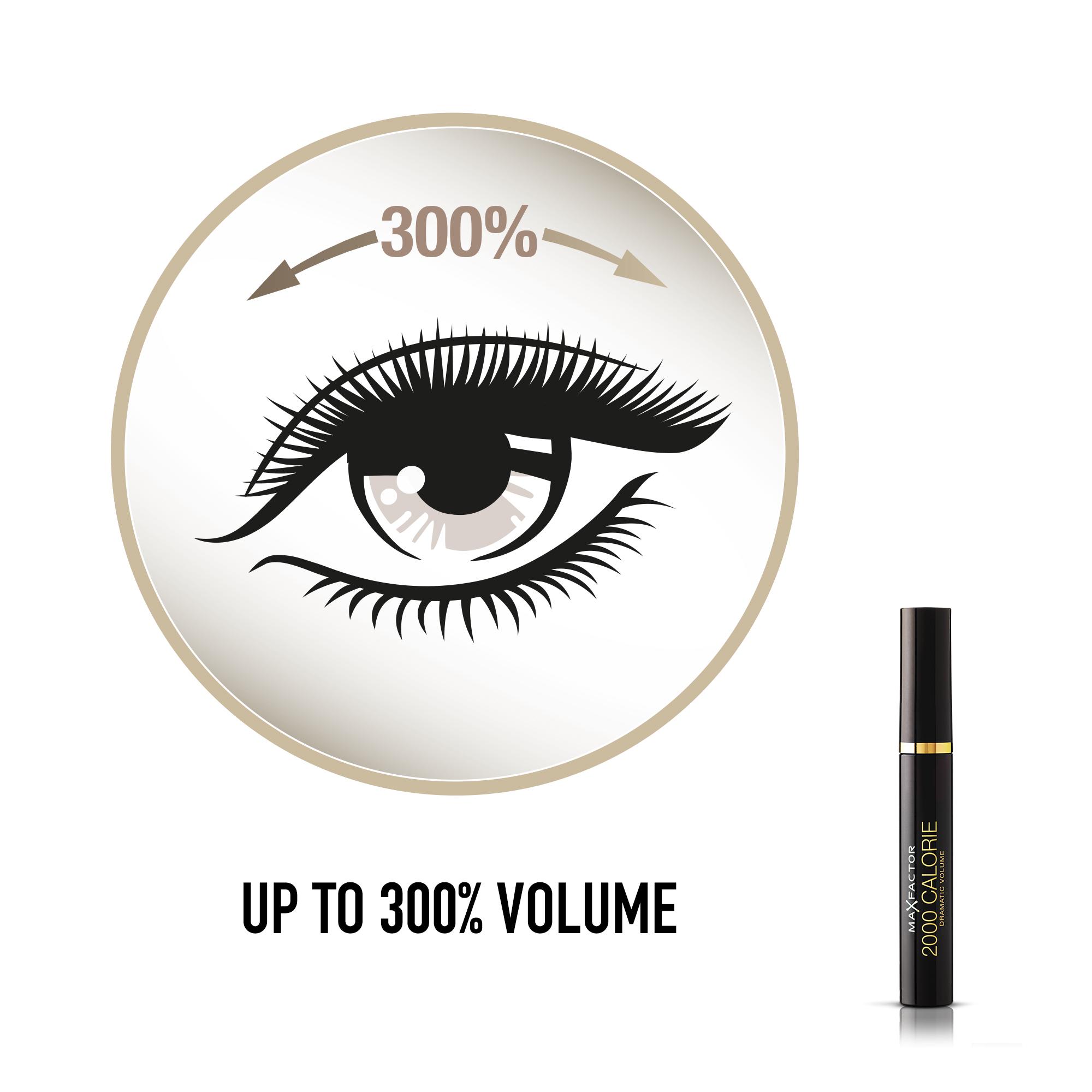 Max Factor 2000 Calorie Mascara, brun