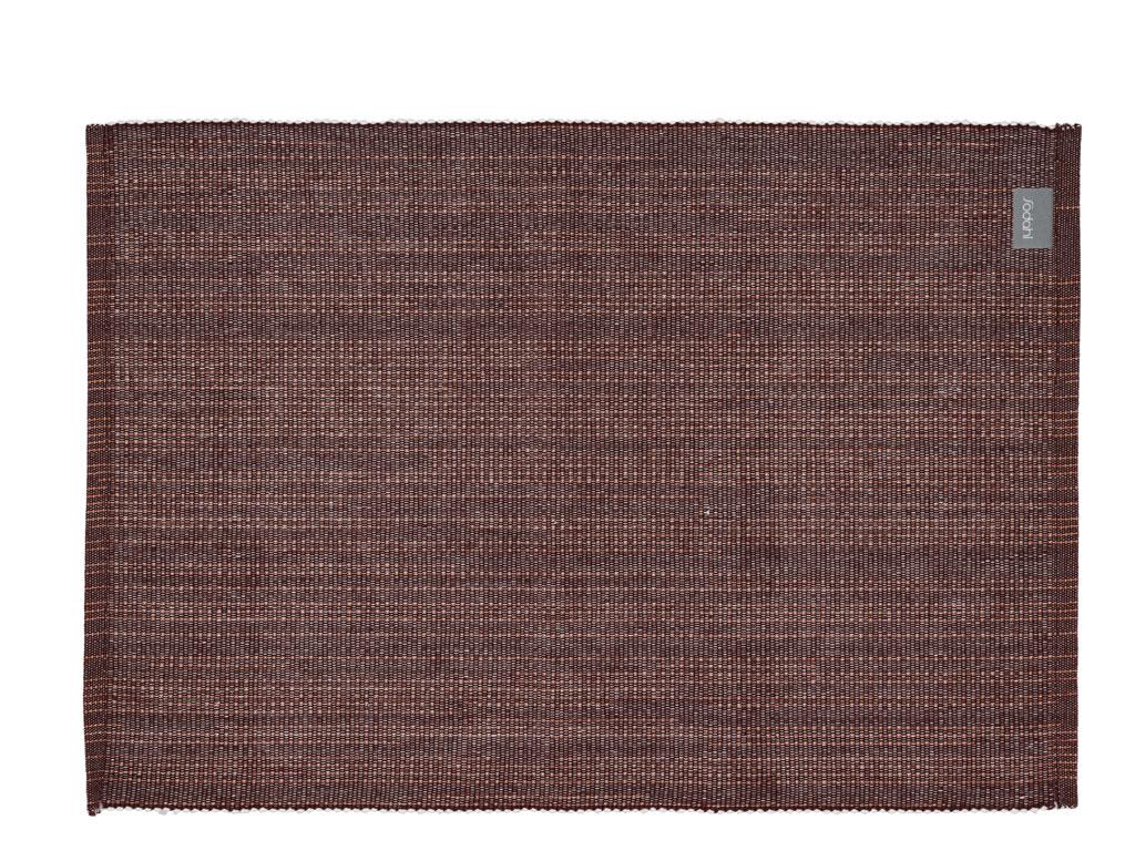 Södahl Sparkle dækkeserviet, 33x48 cm, maroon, 2 stk