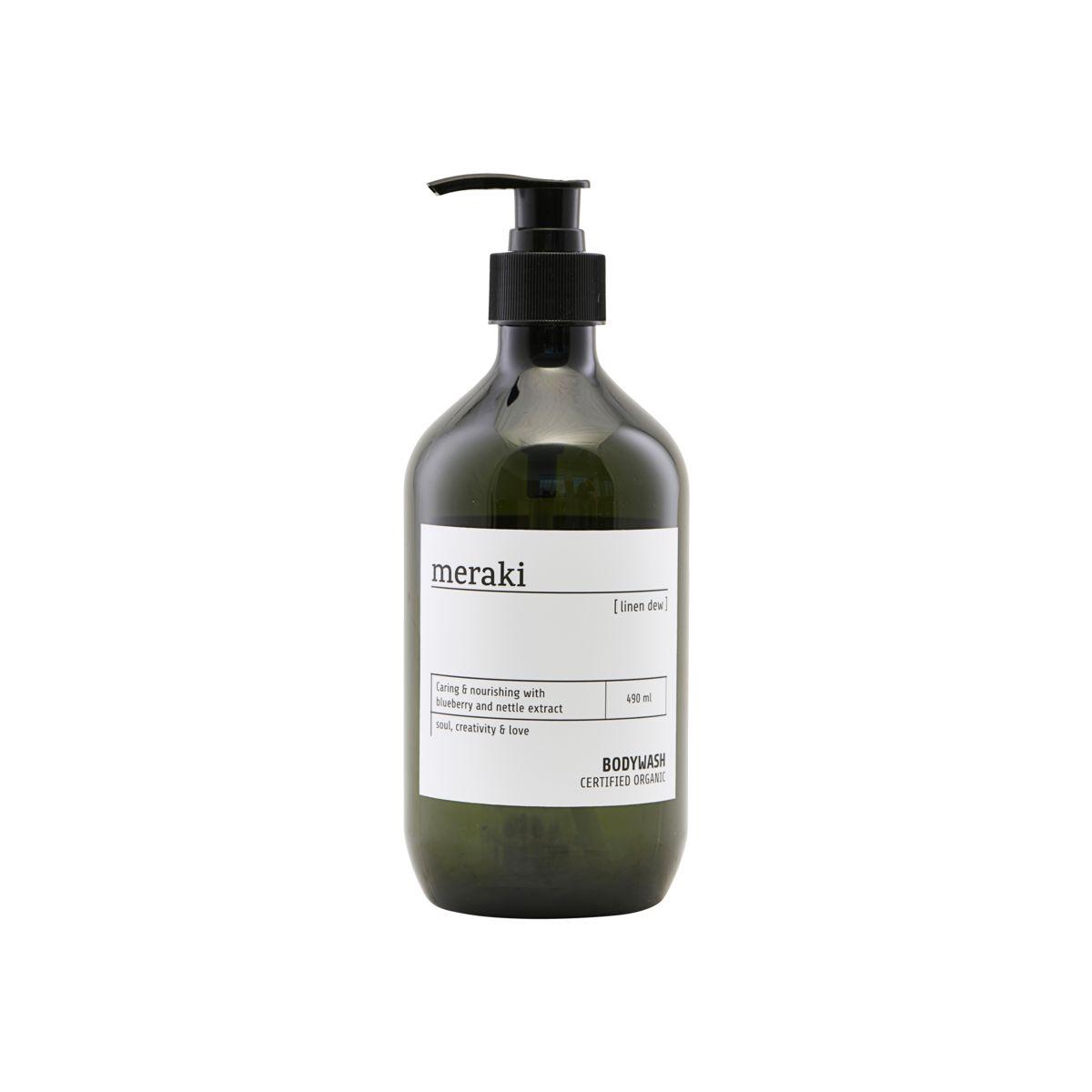 Meraki Linen Dew Body Wash, 490 ml