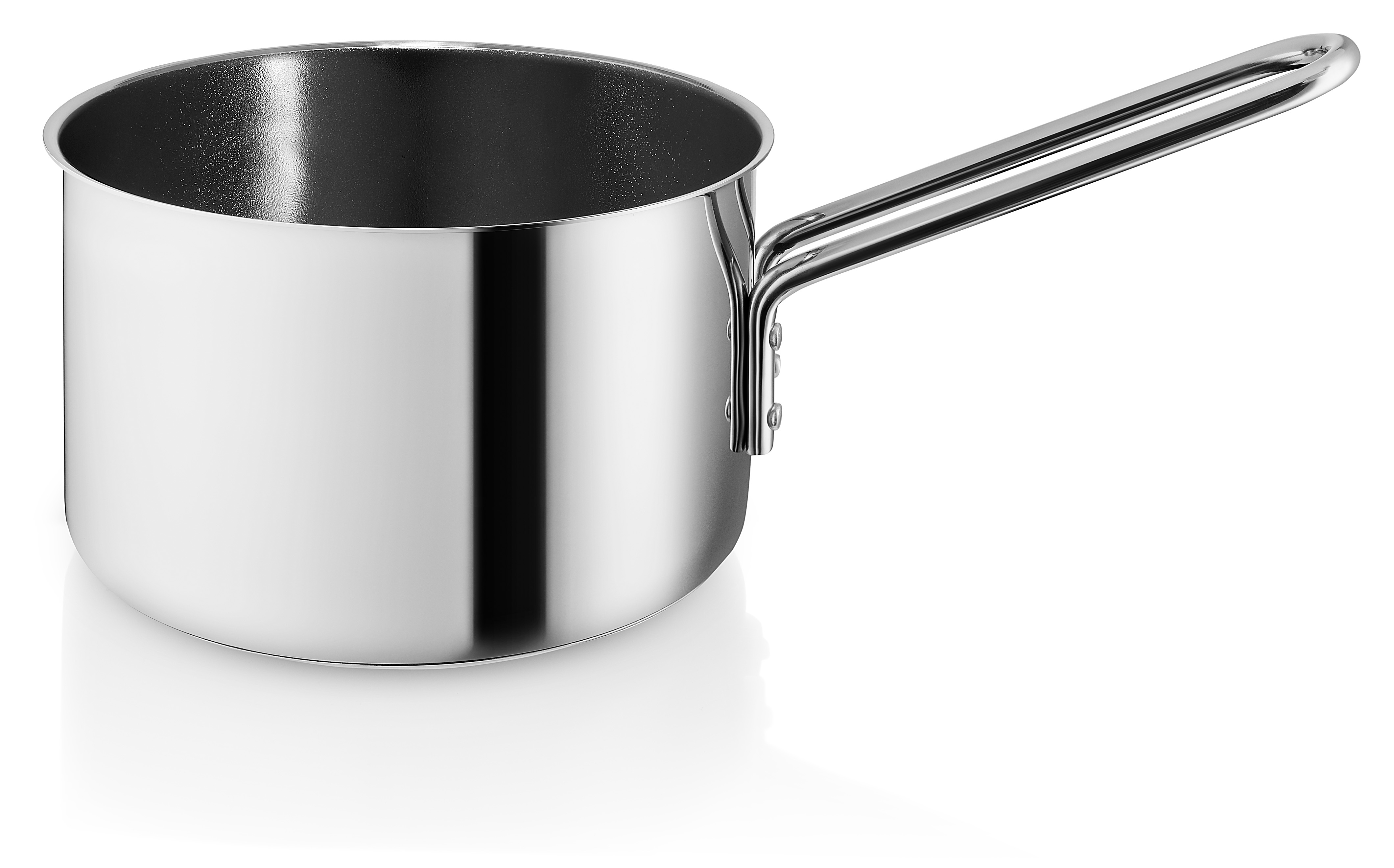 Eva Trio Rustfri stål kasserolle med keramisk belægning, 1,8 liter