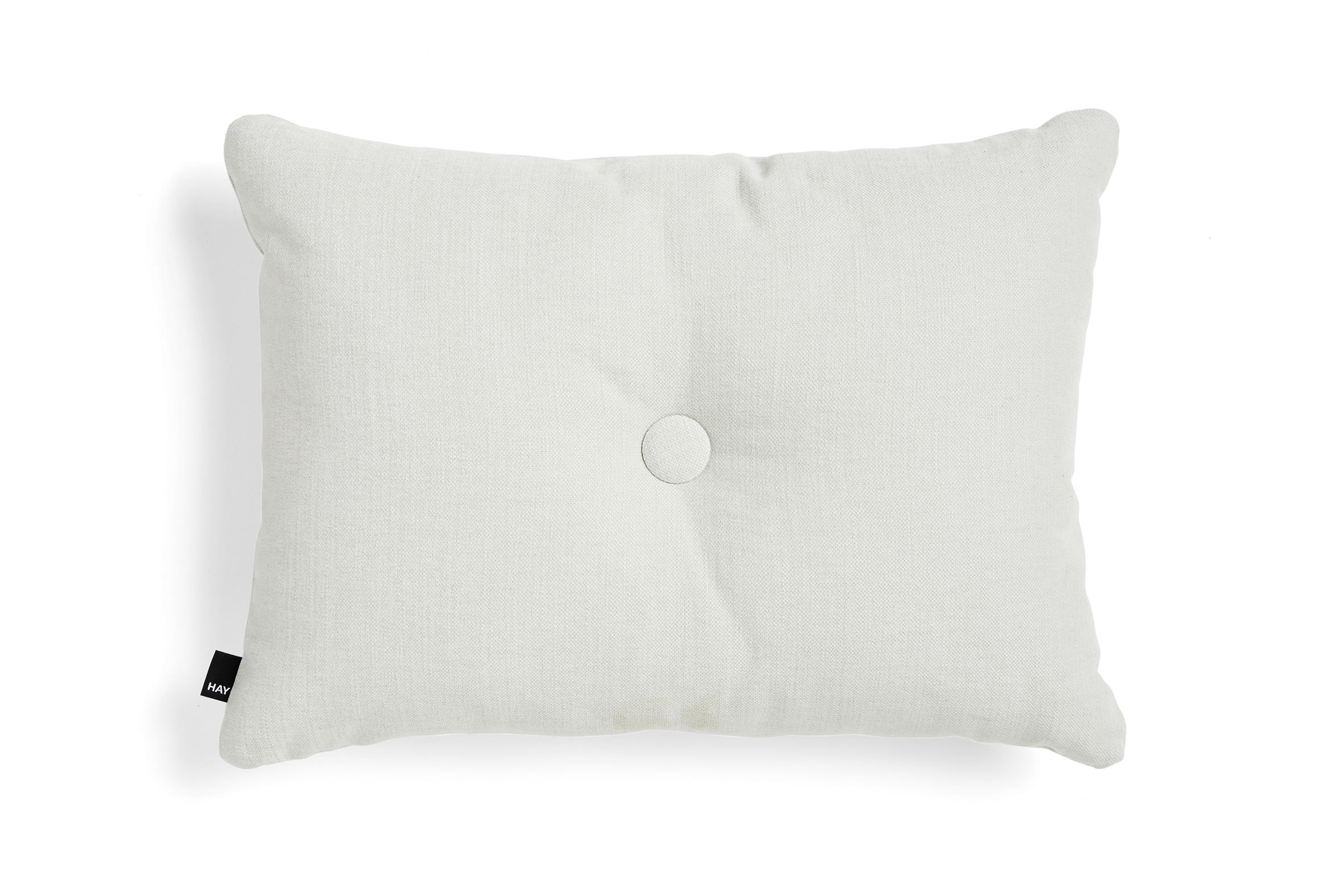 HAY Dot Cushion Tint pyntepude, 45x60 cm, light grey