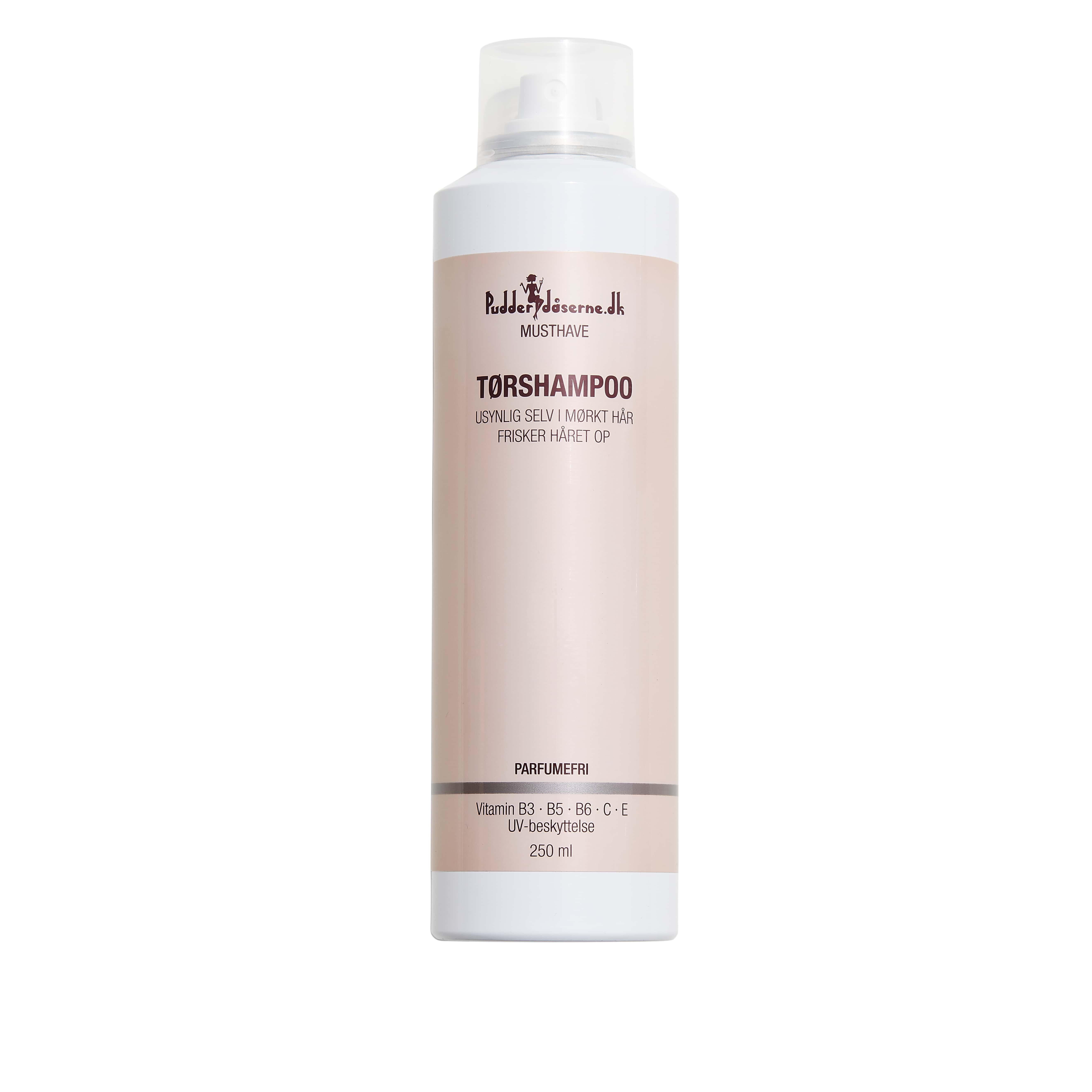Pudderdåserne Tørshampoo, 250 ml