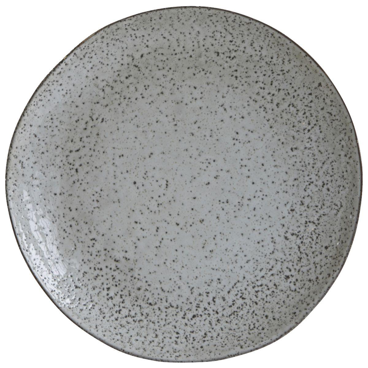 House Doctor Rustic middagstallerken, Ø27,5 cm, gråblå