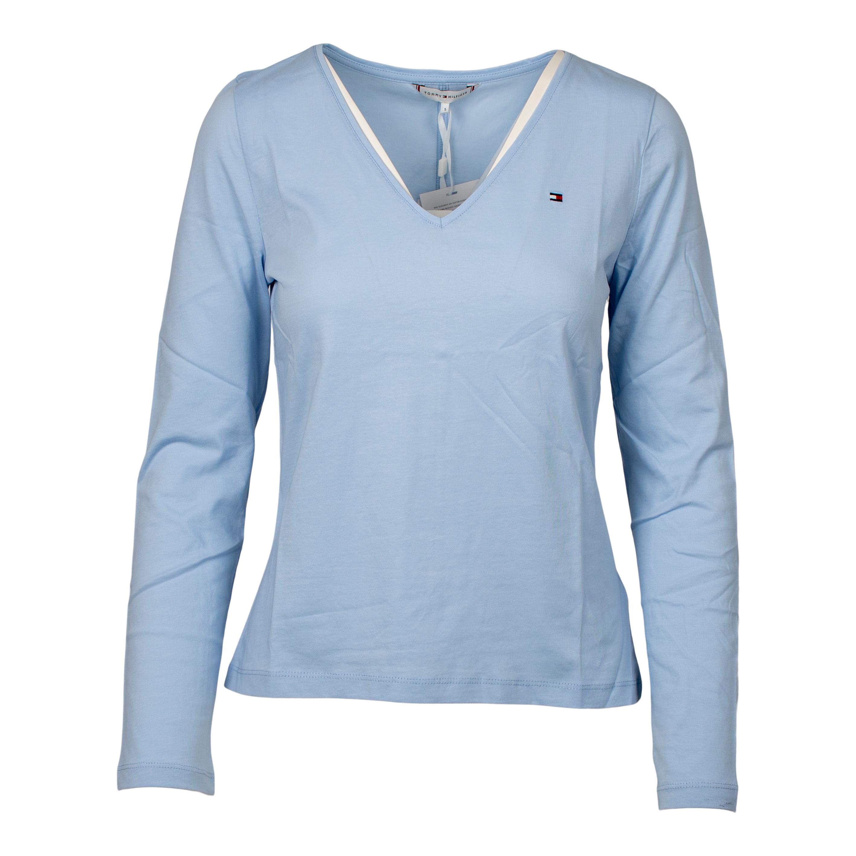 Tommy Hilfiger Regular Classic V-Neck bluse