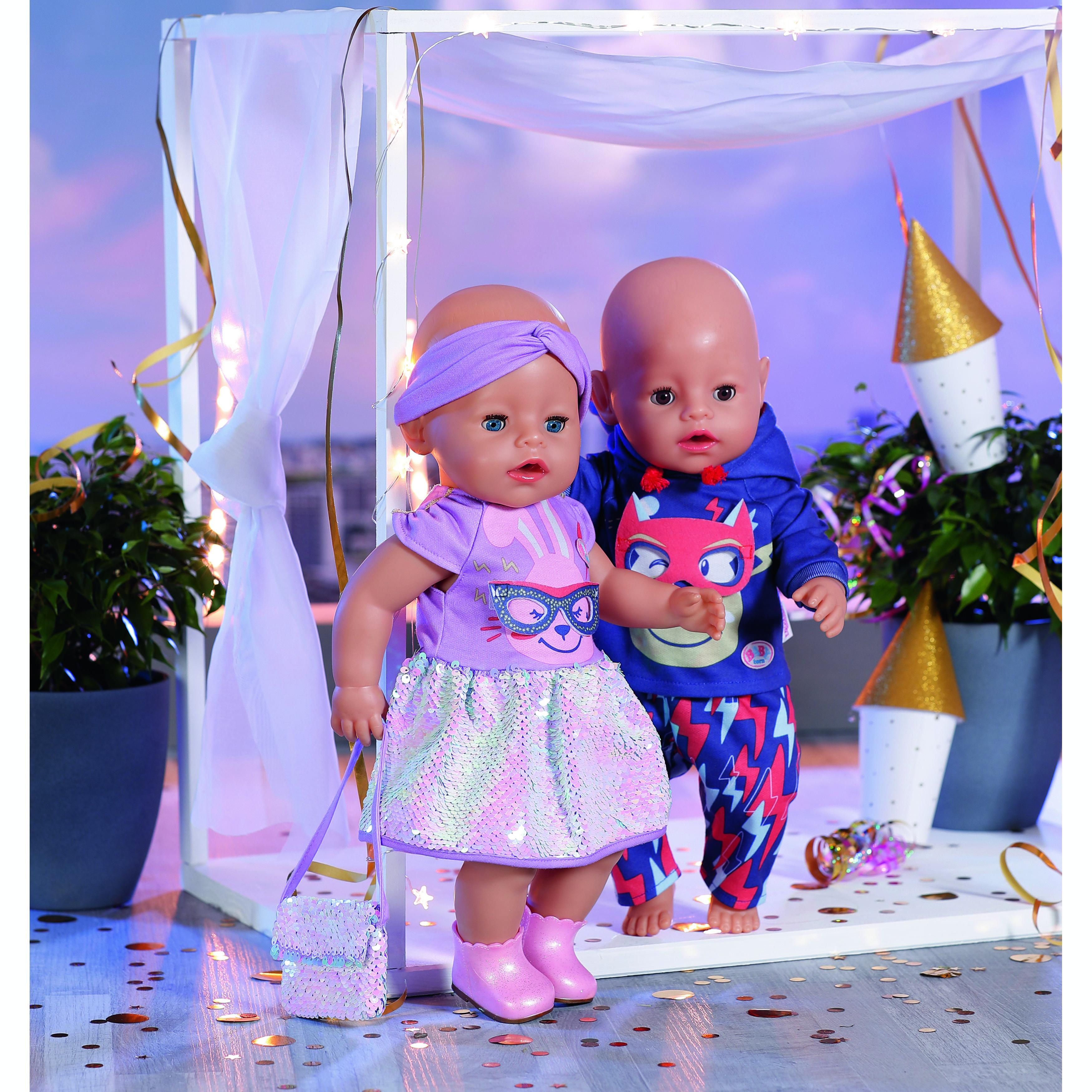 Baby Born Deluxe Fødselsdagssæt , 43 cm