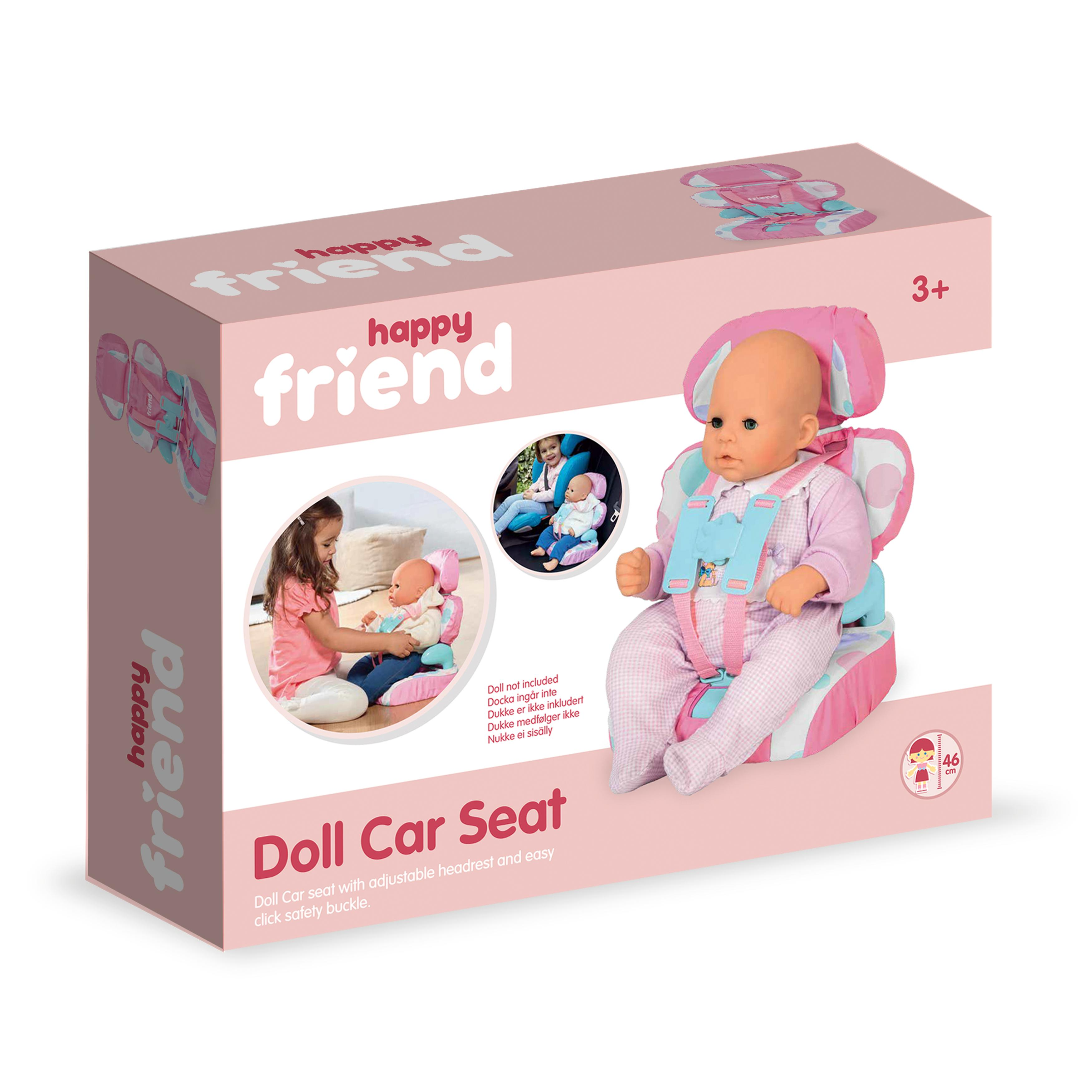 Happy Friend dukkeautostol