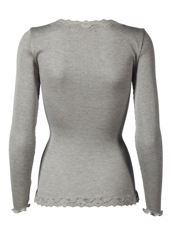 Rosemunde 5420 cardigan, light grey, medium