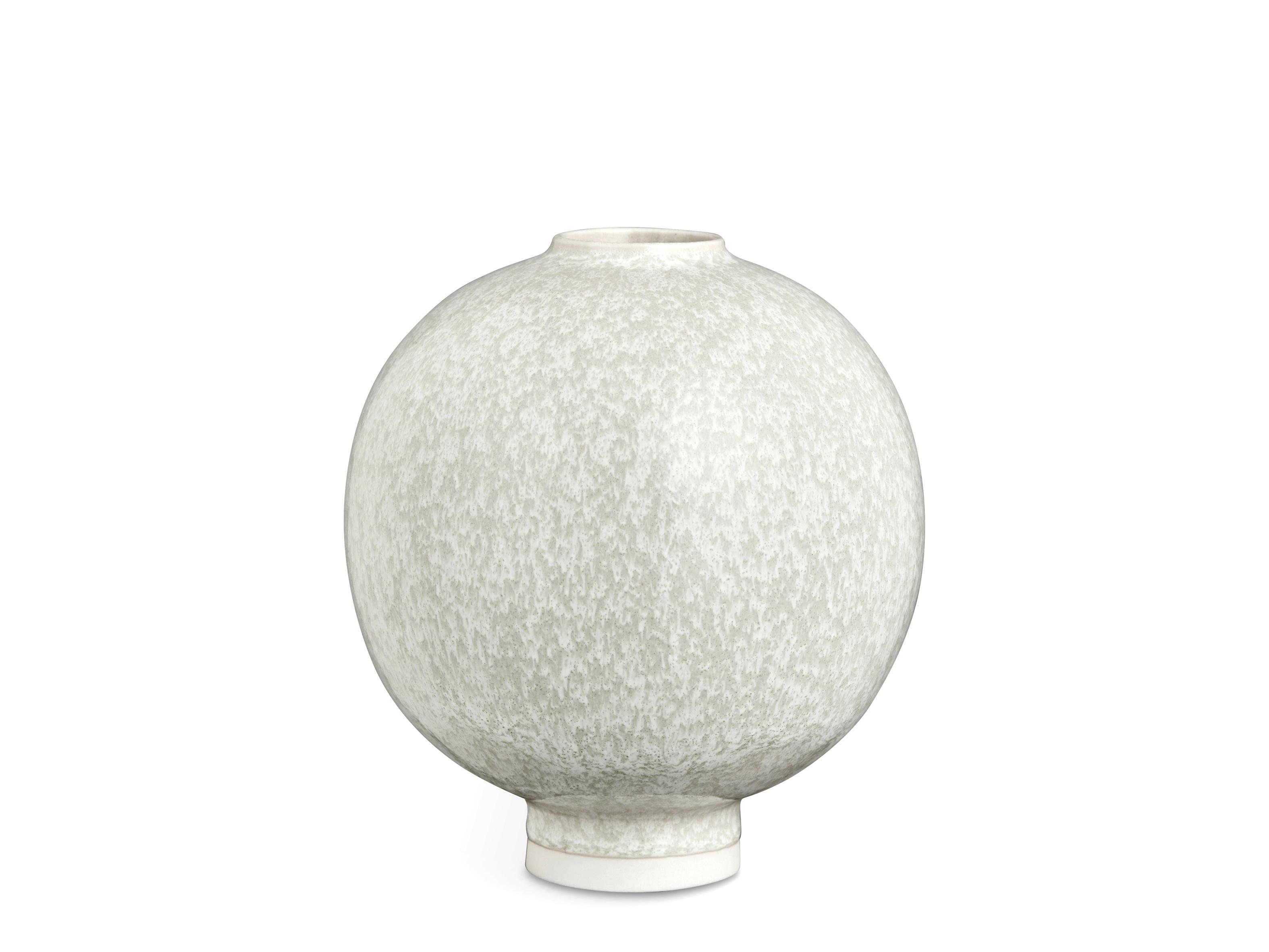 Kähler Unico vase, 17 cm, grøn