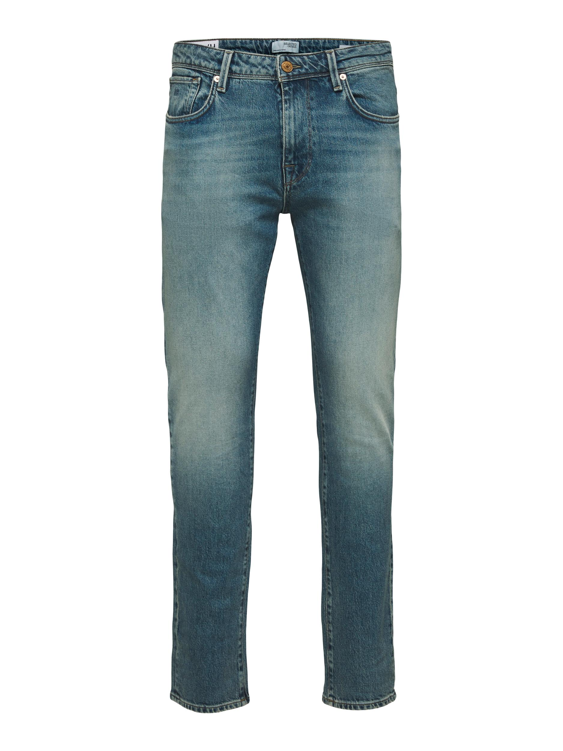 Selected Slim-Leon Jeans, Light Blue Denim, W33/L32