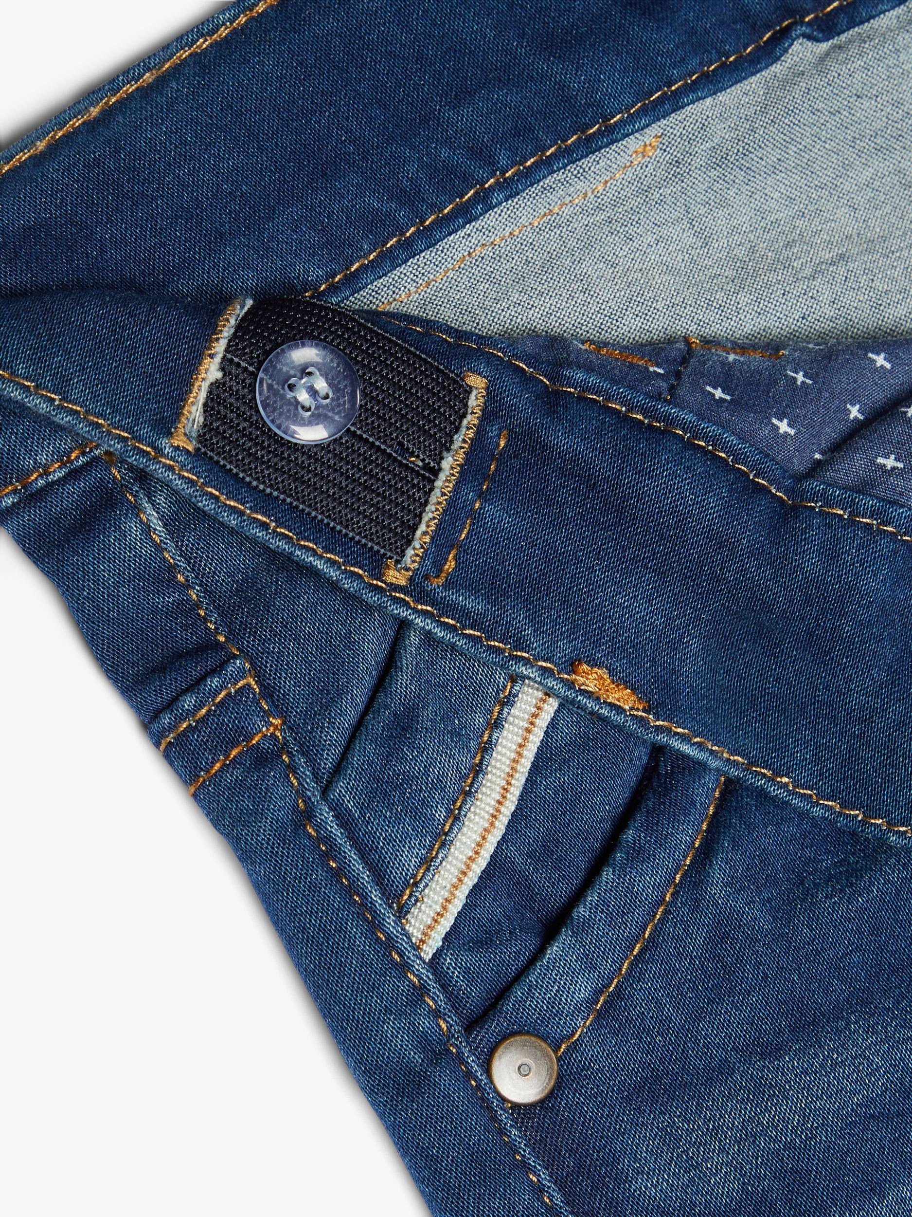 Name It Theo Super Stretch x-slim jeans, medium blue denim, 140