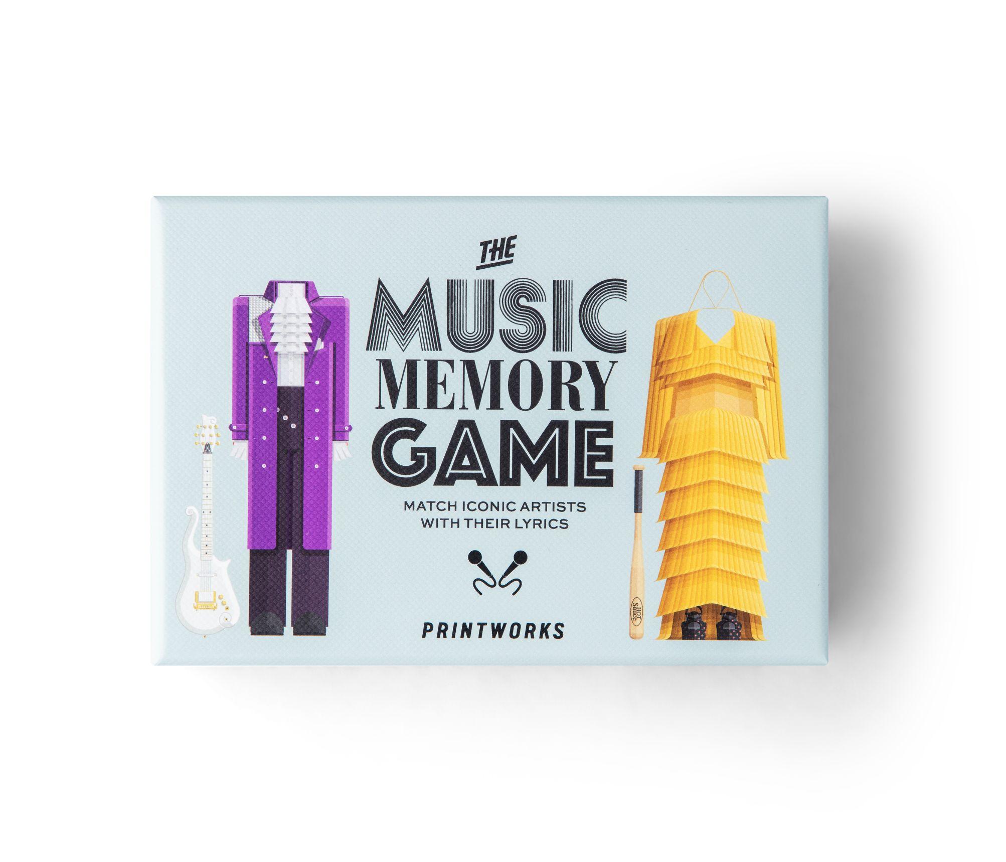 PrintWorks memory game, musik