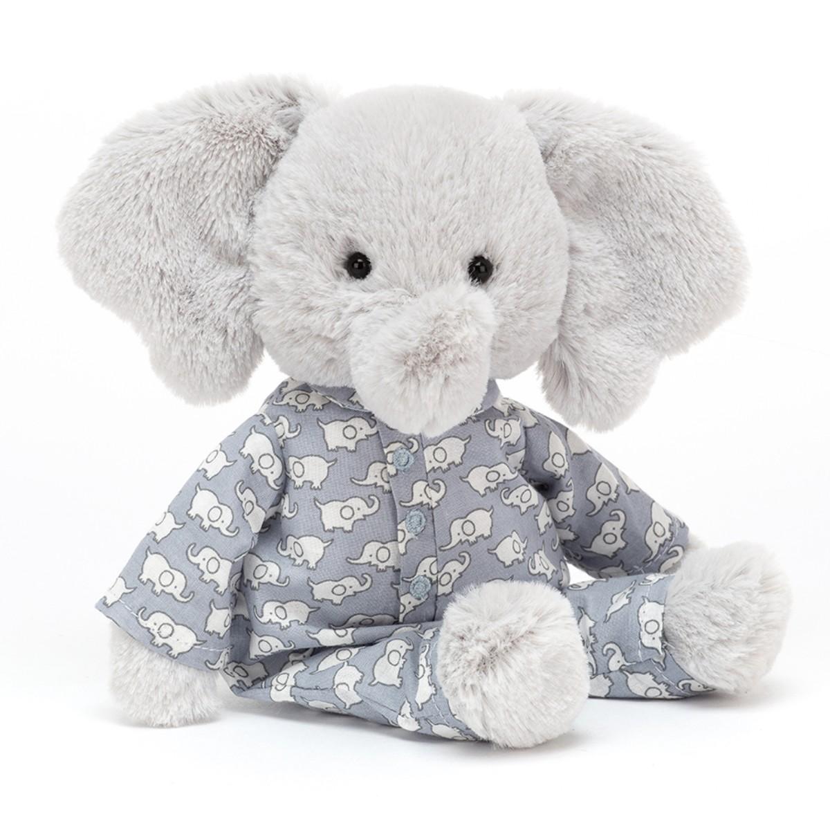 Jellycat, Bedtime elefant, 23 cm