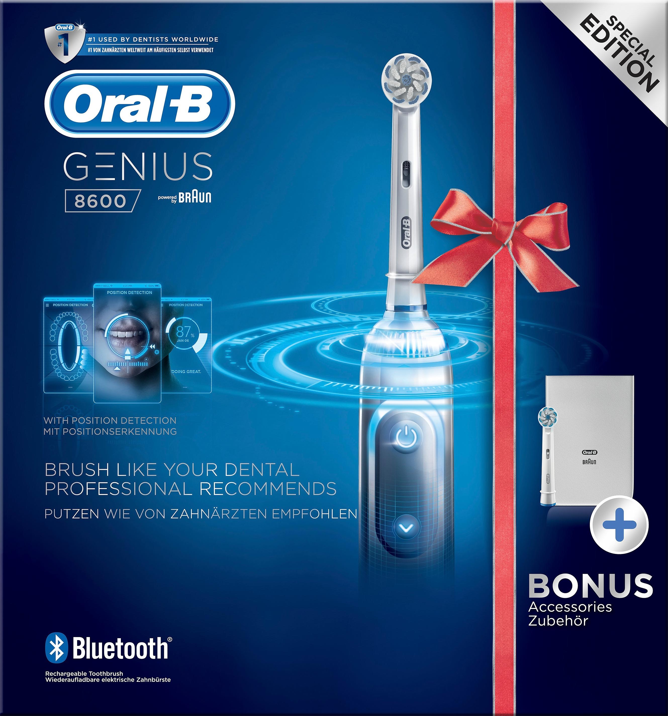 Oral-B Genius 8600 eltandbørste, silver