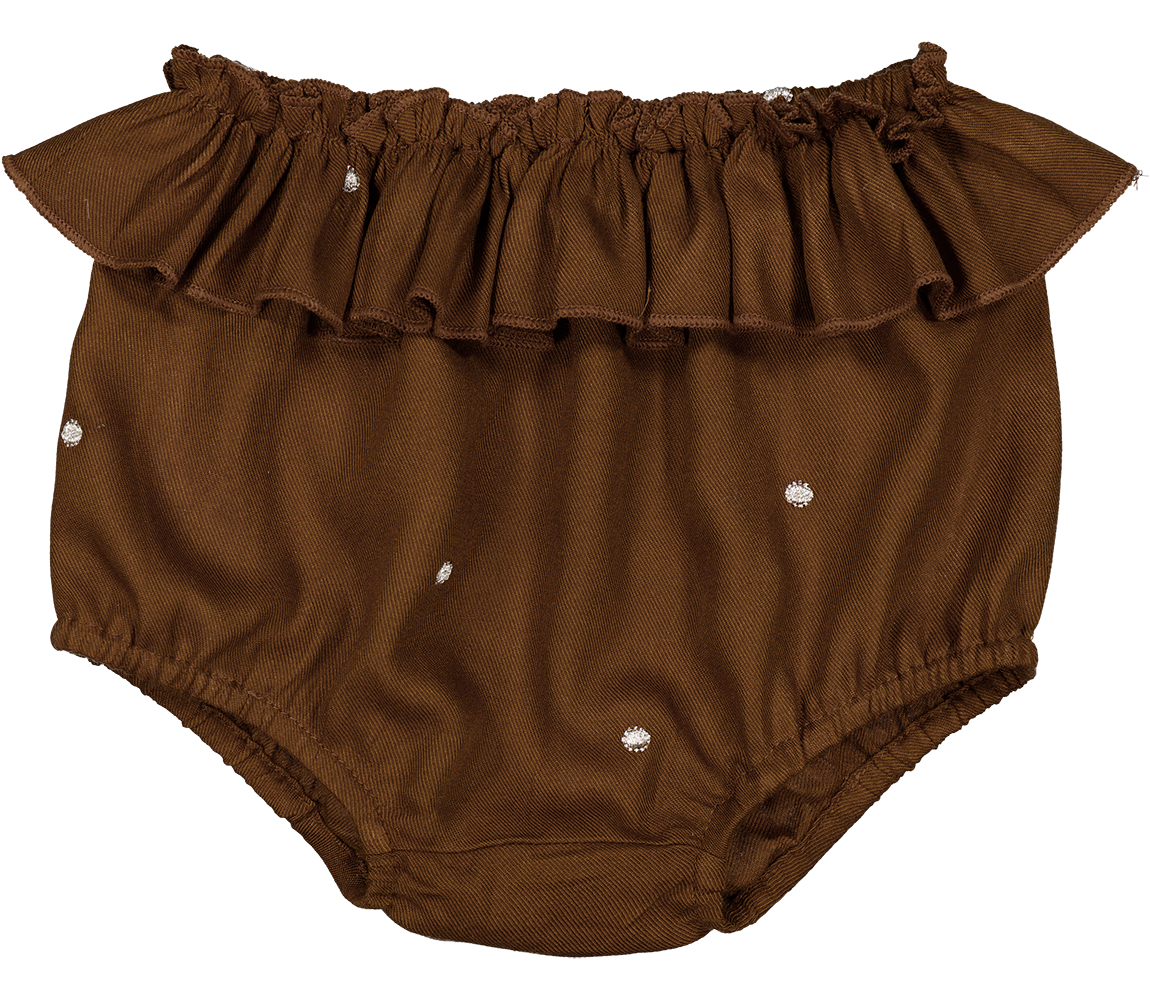 MarMar Pusle Frill Bloomers, Gold Dot, 86 cm