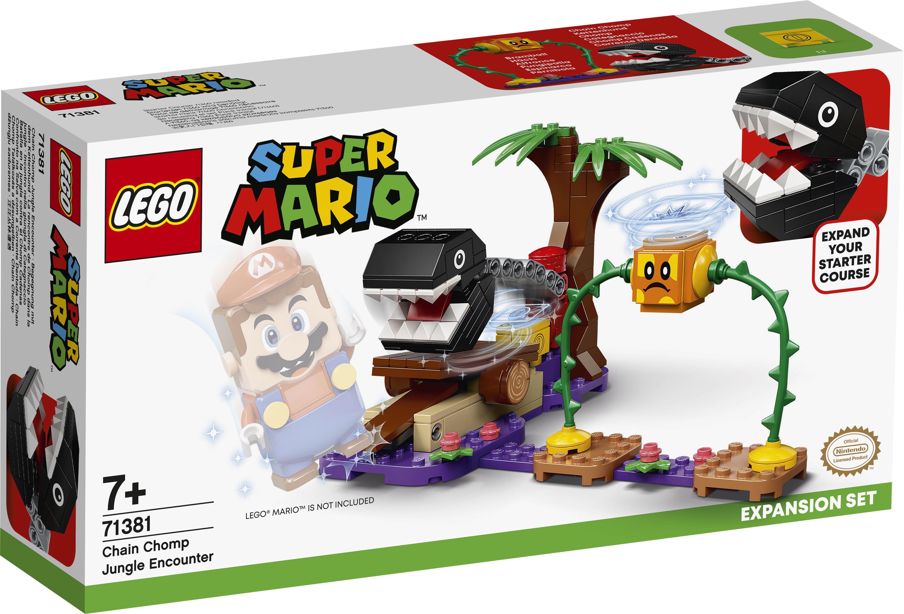 LEGO Super Mario Kædegnasker-junglekamp - 71381
