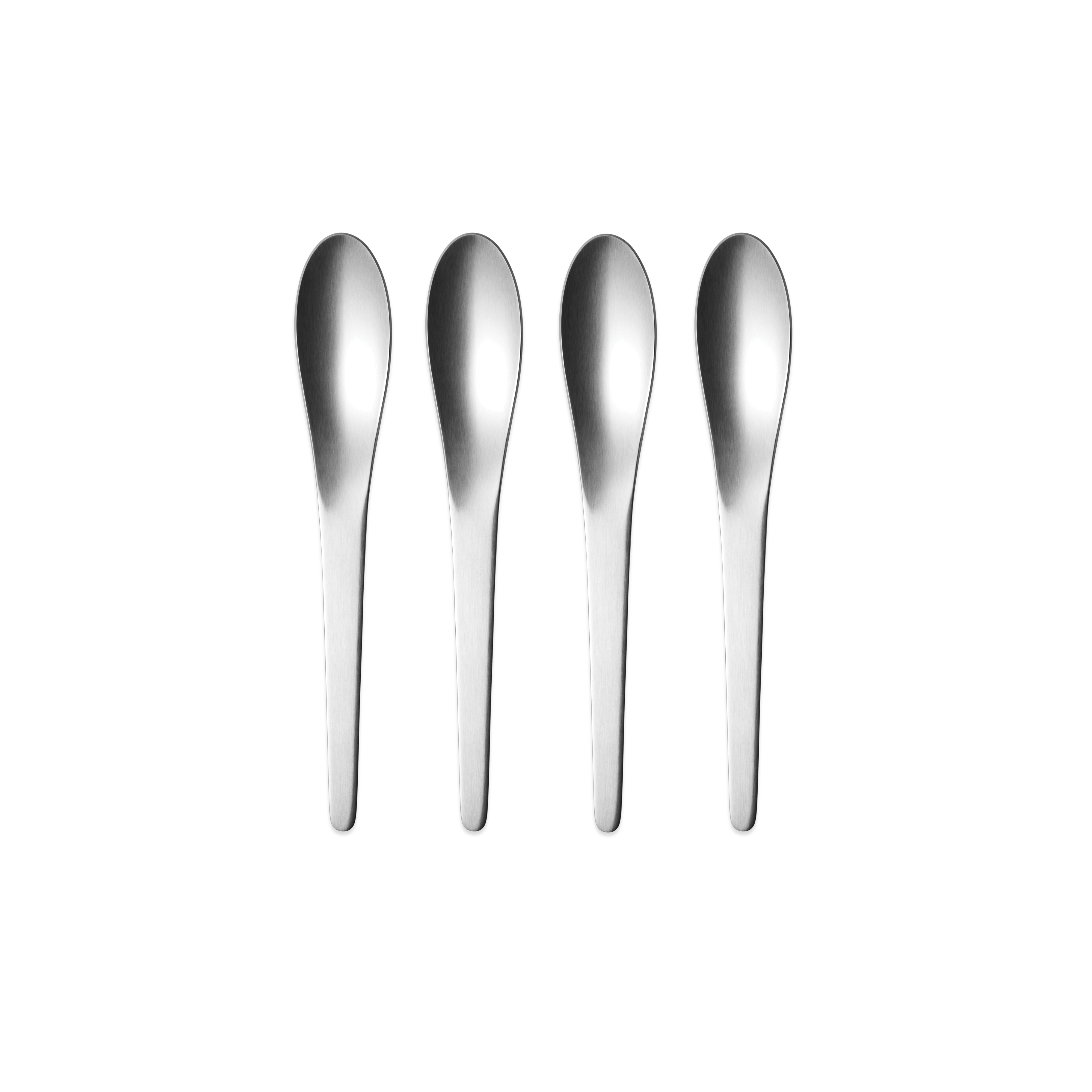 Georg Jensen Arne Jacobsen dessertske, mat, 4 stk