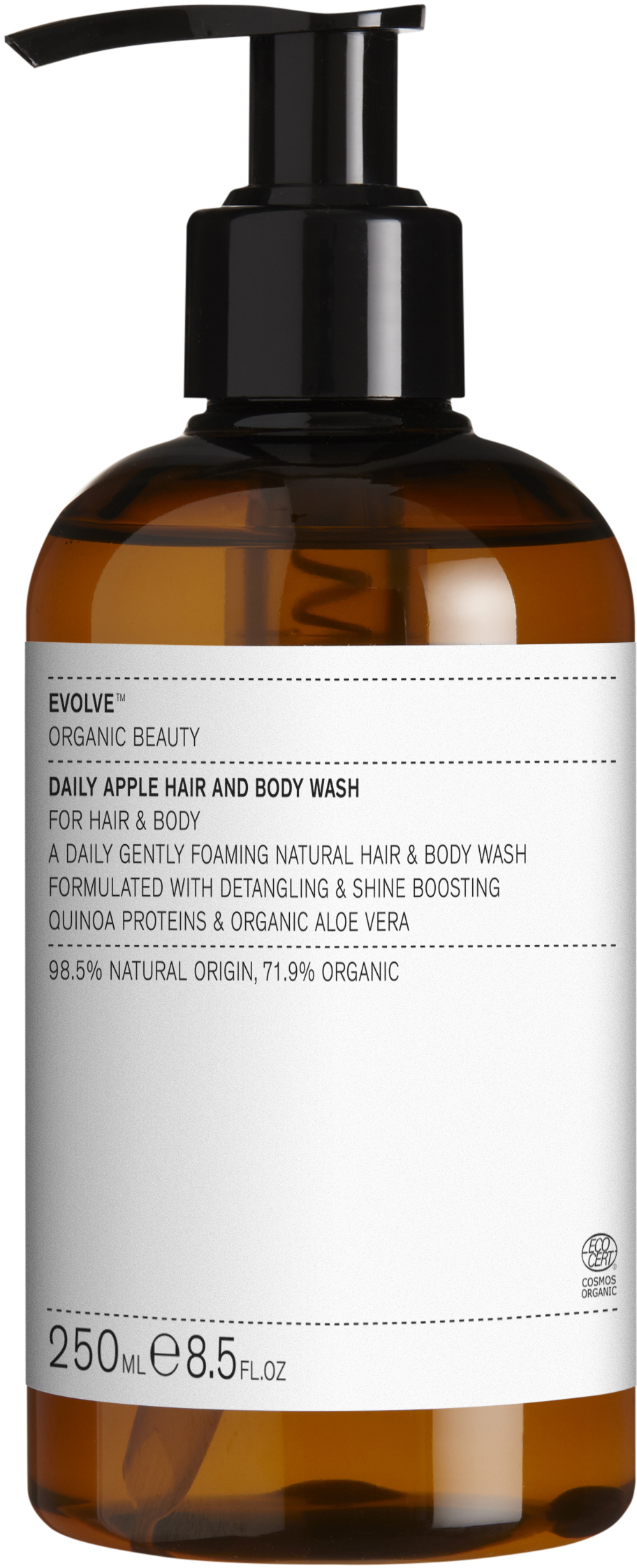Evolve Daily Apple Hair & Body Wash, 250 ml