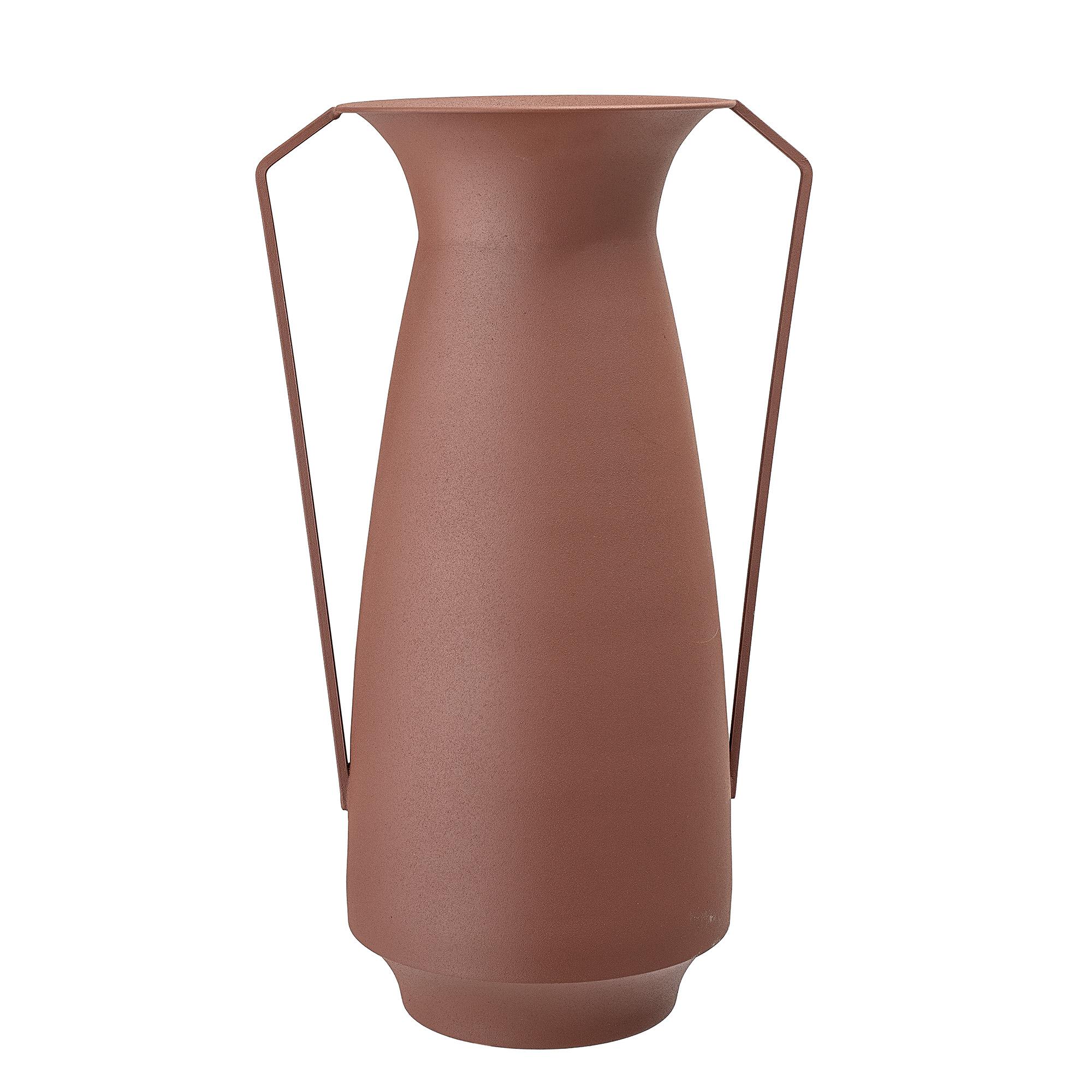 Bloomingville metal vase, brun