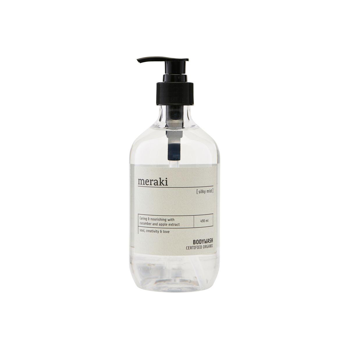 Meraki Silky Mist Body Wash, 490 ml