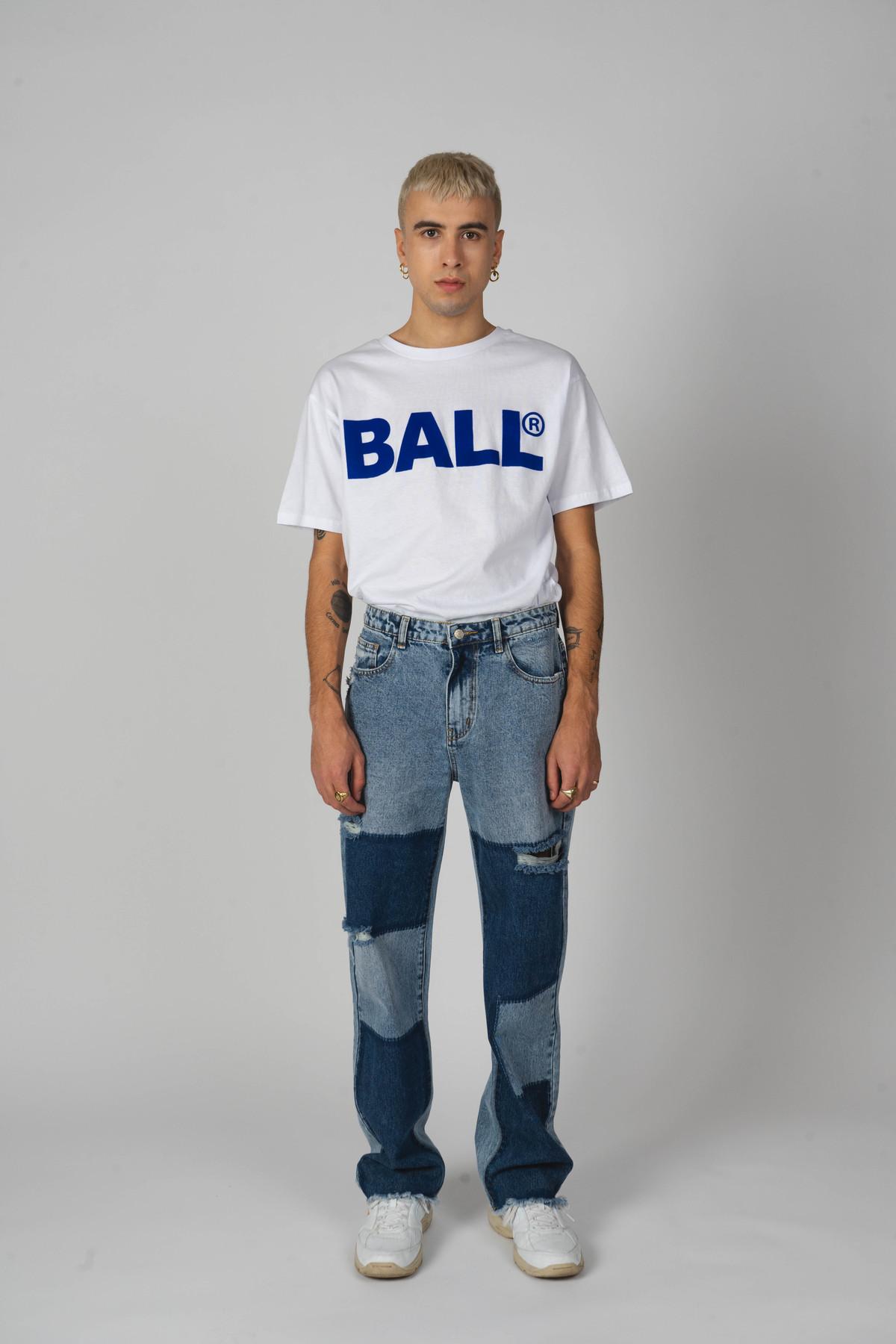 BALL Original CPH Flock t-shirt, optical white, XL