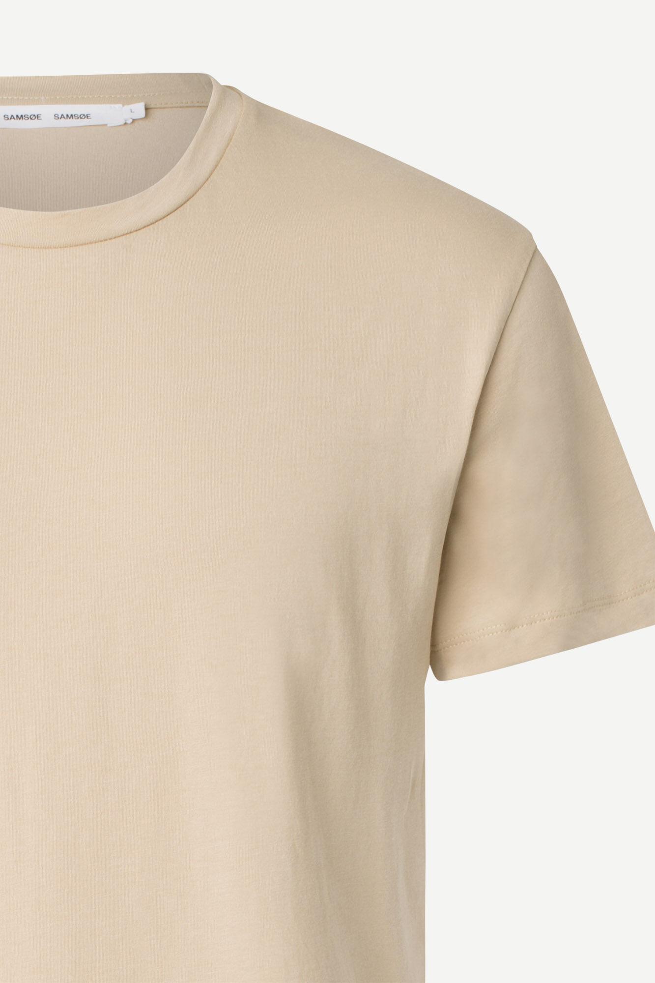 Samsøe & Samsøe Kronos O-N S/S t-shirt, humus, medium