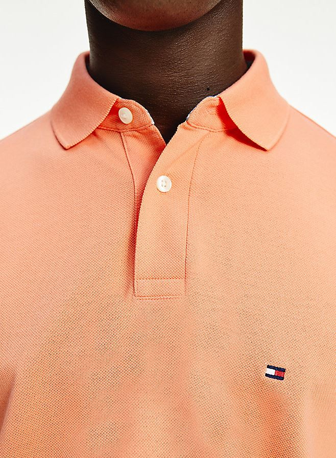 Tommy Hilfiger 1985 Polo t-shirt, summer sunset, small