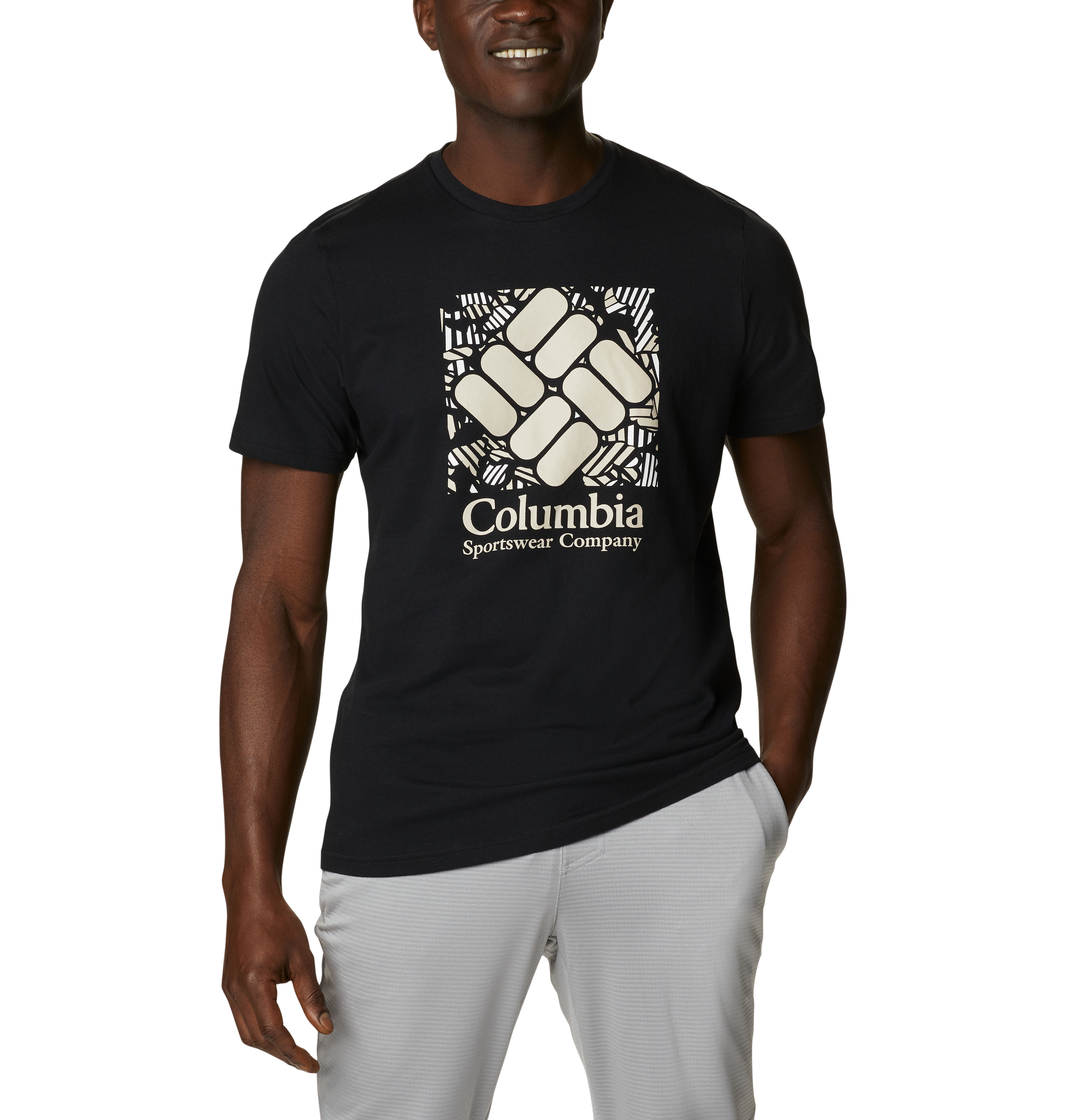 Columbia Rapid Ridge™ Graphic t-shirt, black, large