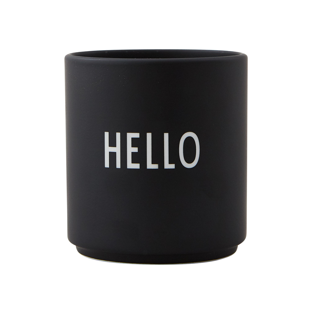 Design Letters Favorite kop, hello, sort