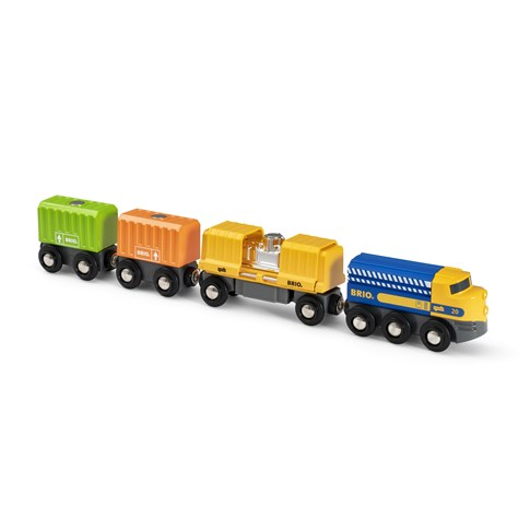 Brio Godstog med tre vogne
