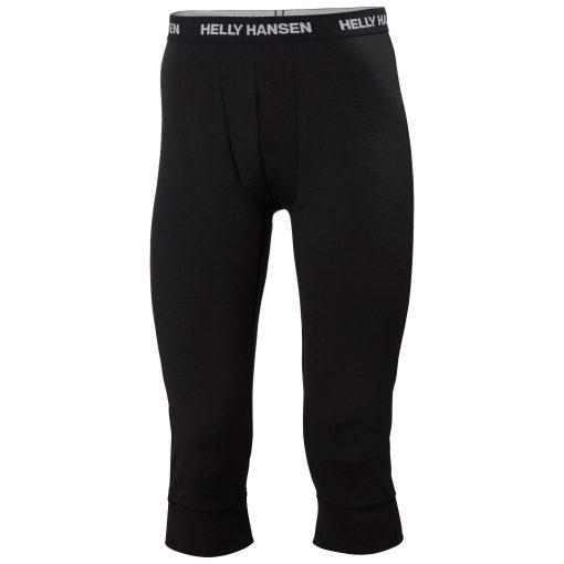 Helly Hansen Lifa Merino Midweight 3/4 skiunderbukser, black, small
