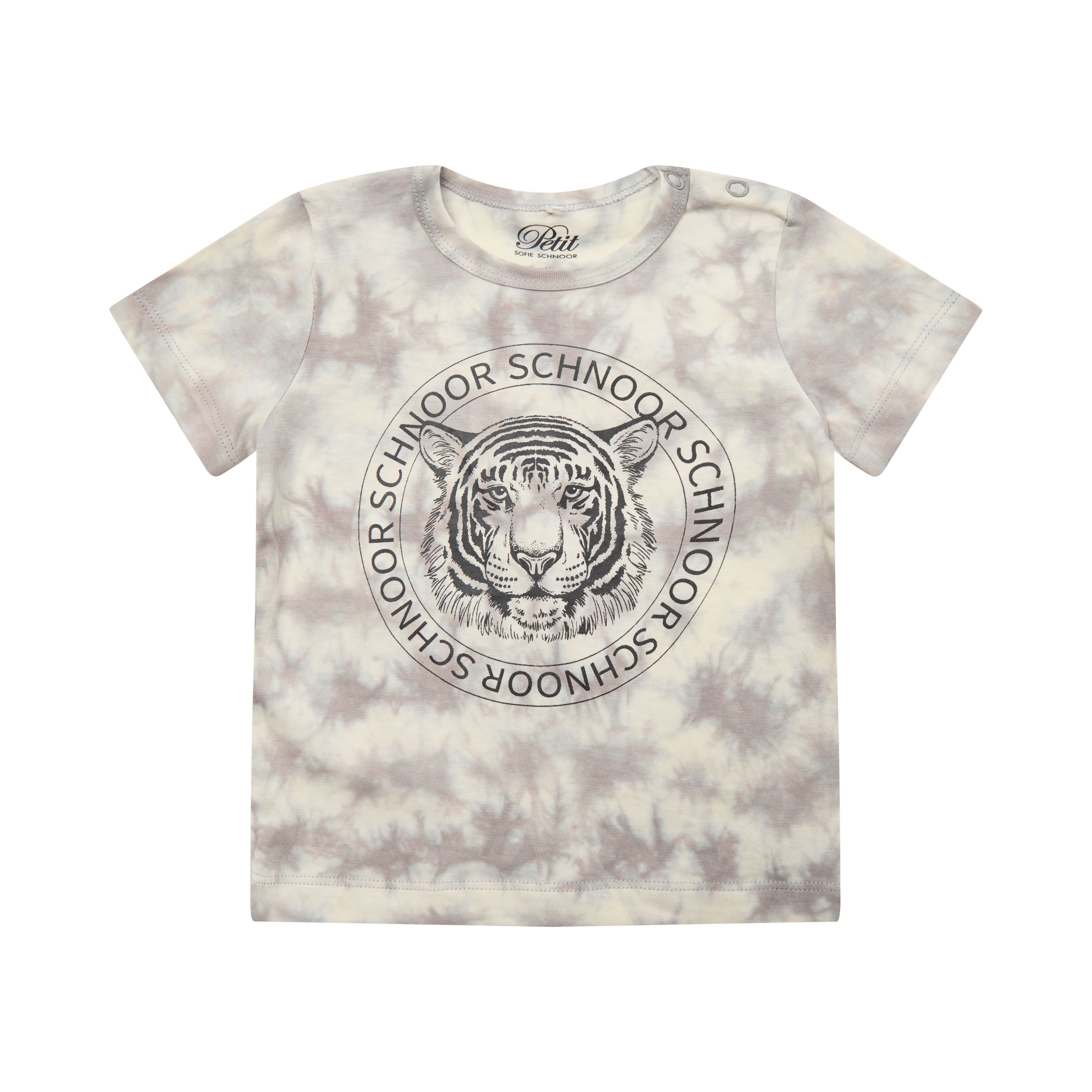 Petit by Sofie Schnoor P212406 t-shirt, warm grey, 92