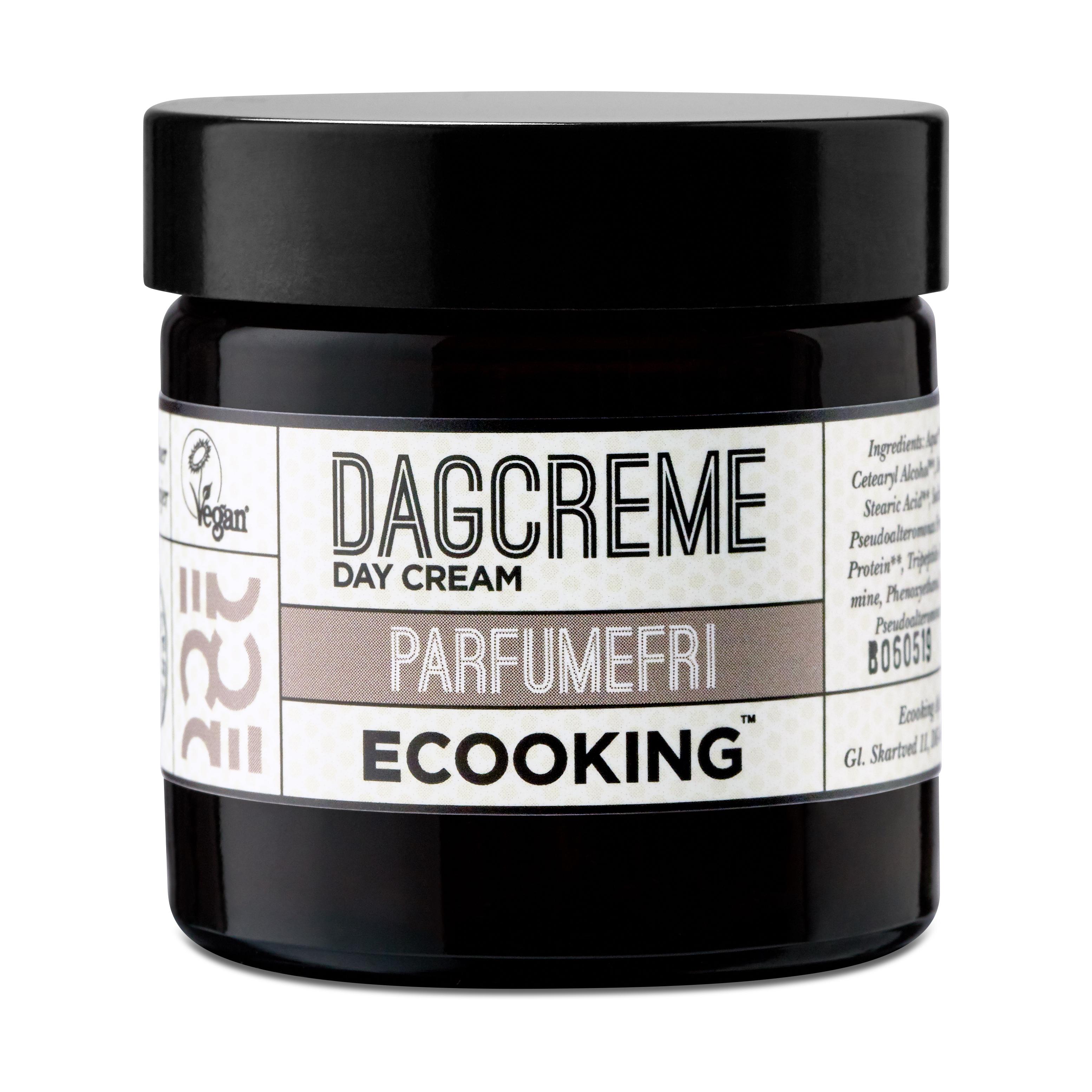 Ecooking Parfumefri Dagcreme, 50 ml