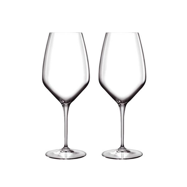 Luigi Bormioli Atelier Riesling hvidvinsglas, 440 ml, 2 stk