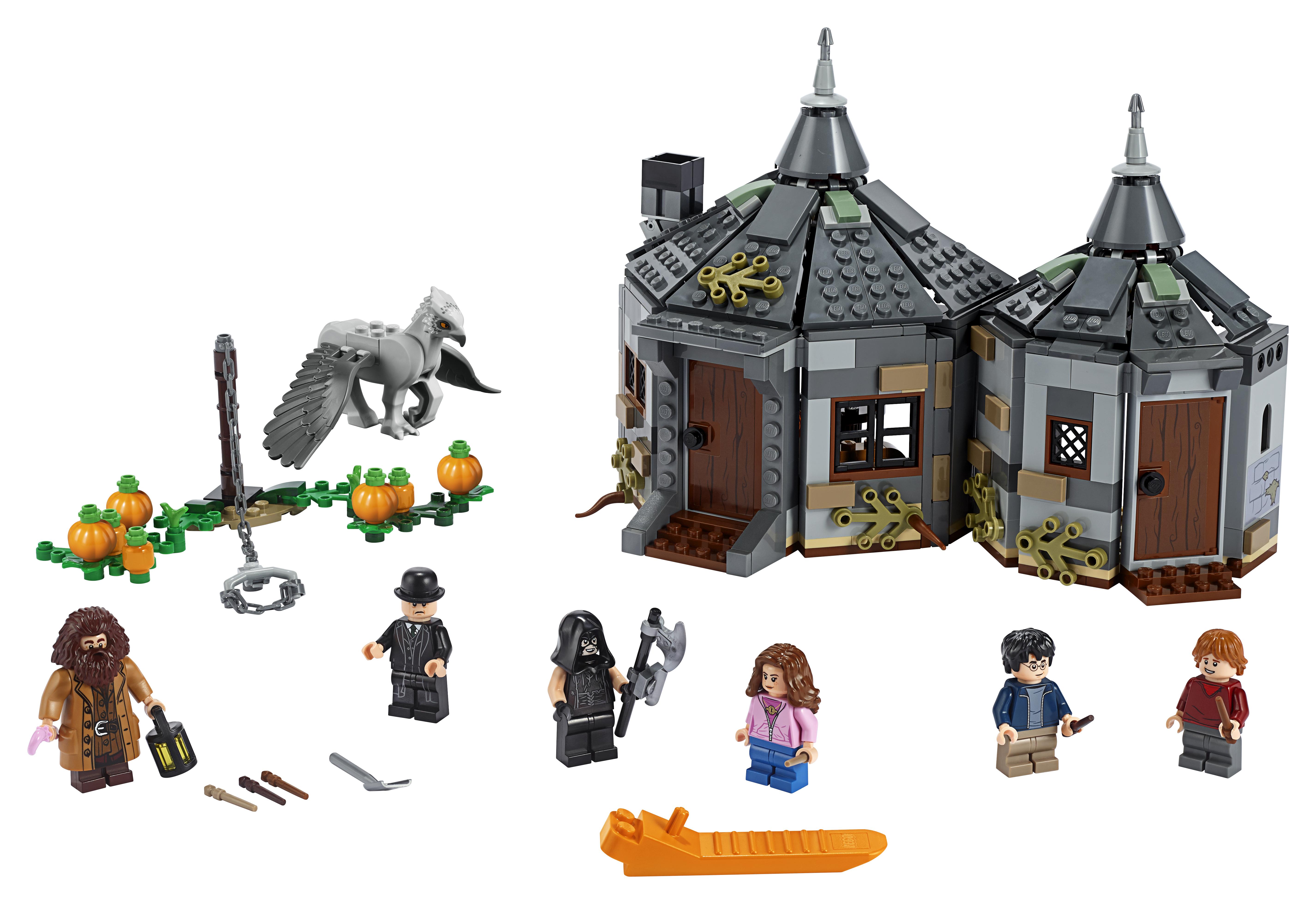LEGO Harry Potter Hagrids hytte: Stormvinds redning - 75947