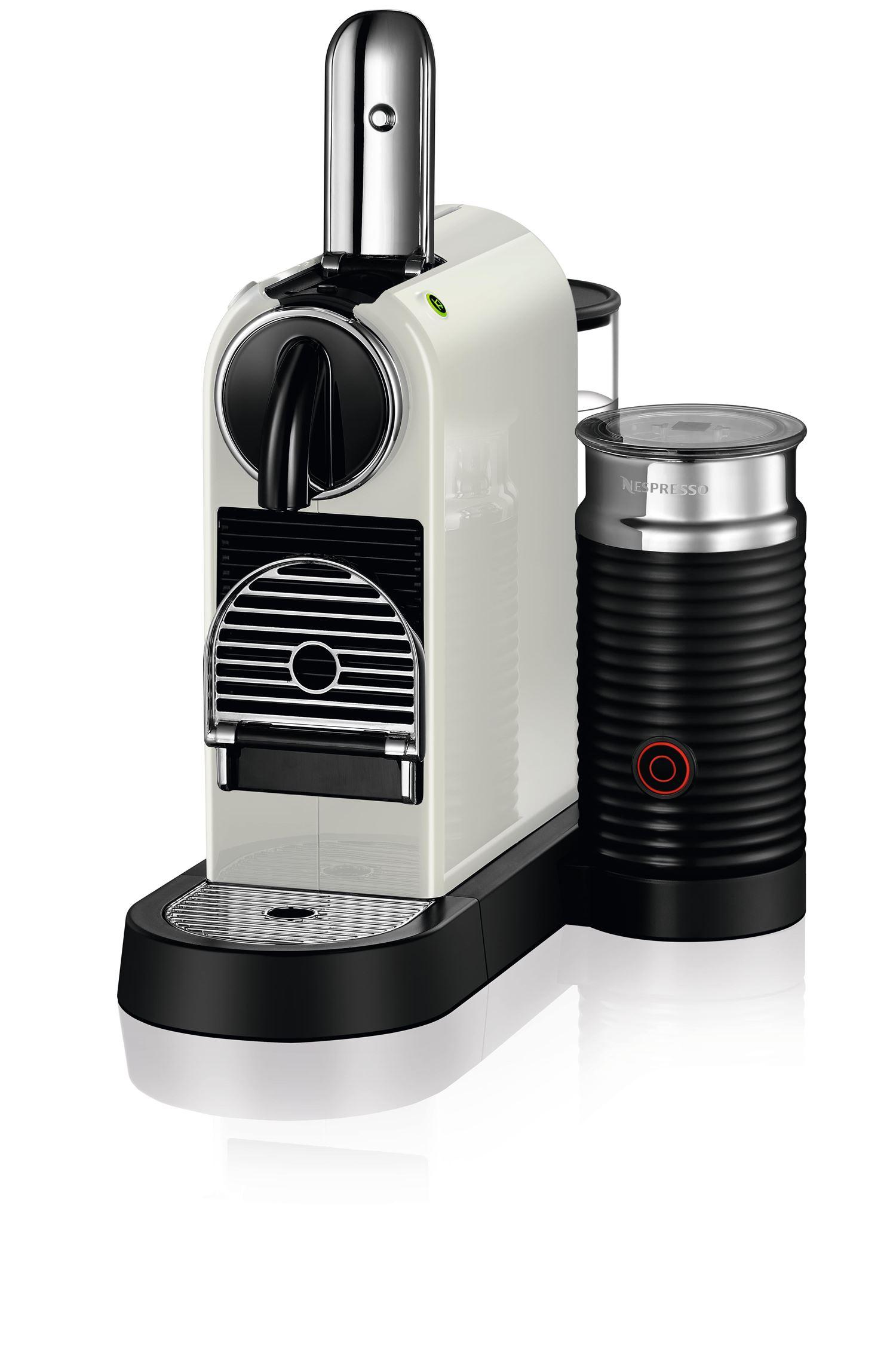 Nespresso® Citiz & Milk D123 kaffemaskine, white