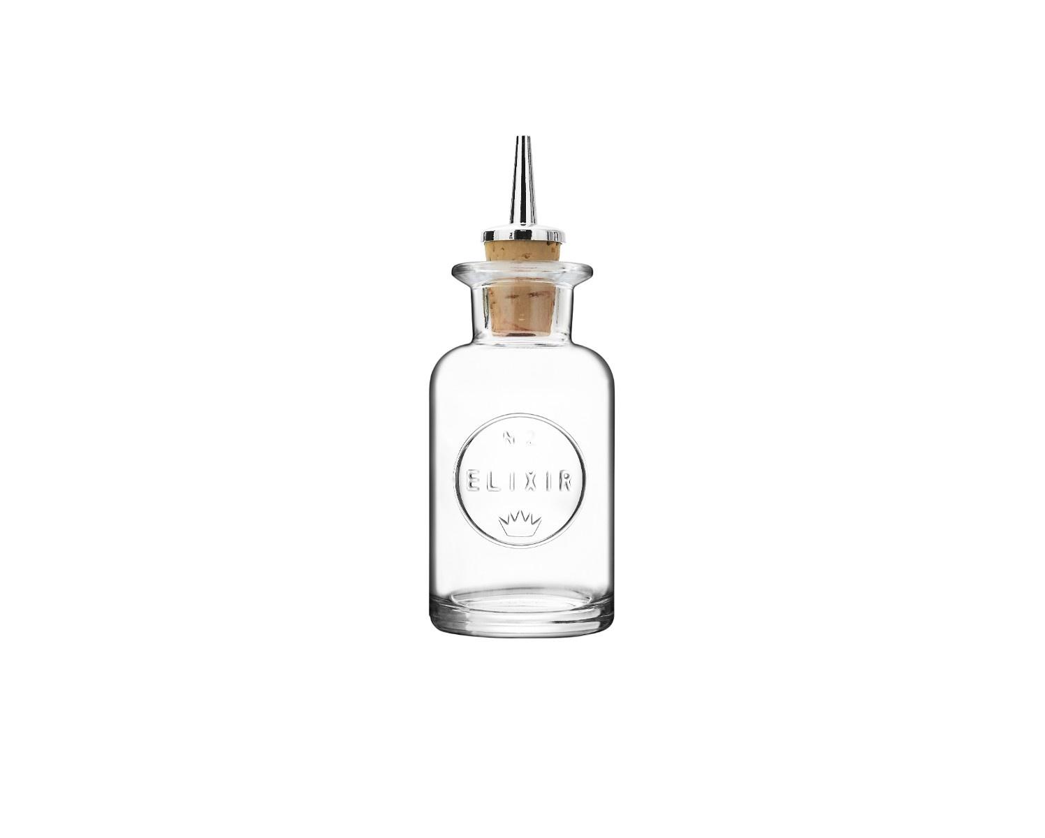 Luigi Bormioli Elixir No2 flaske med skænkeprop, 100 ml