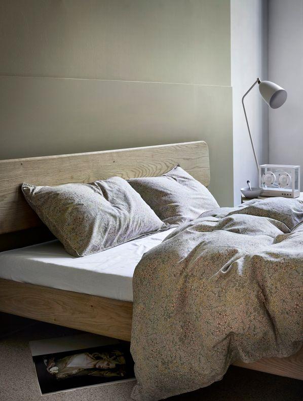 Høie Hermine sengelinned, 140x220 cm, fersken rosa