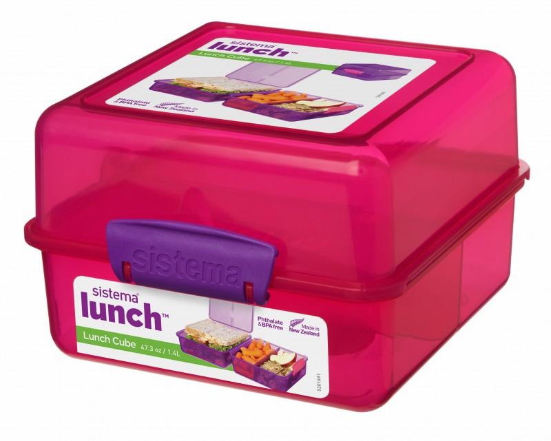 Sistema Lunch Cube madkasse, 1,4 liter