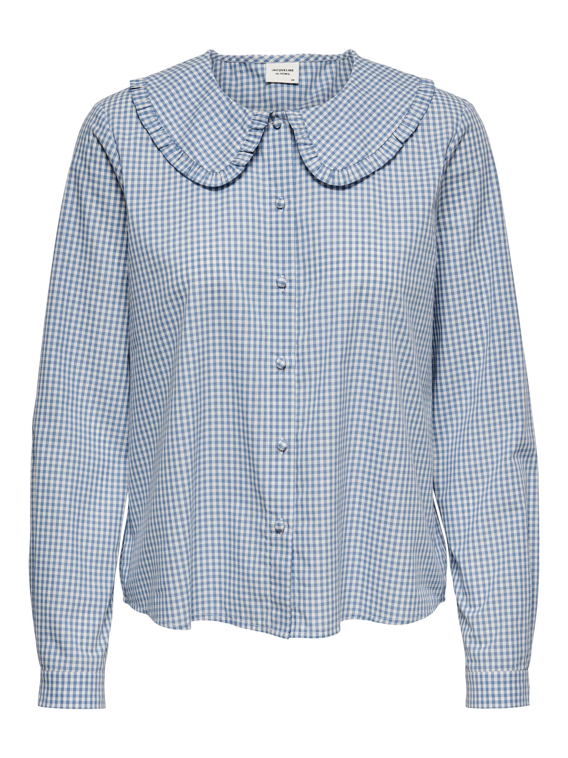 Jacqueline de Yong Kiara skjorte, coronet blue, 38