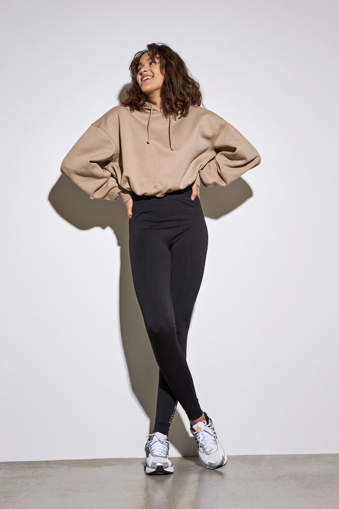 Envii Monroe LS sweatshirt, dune, medium