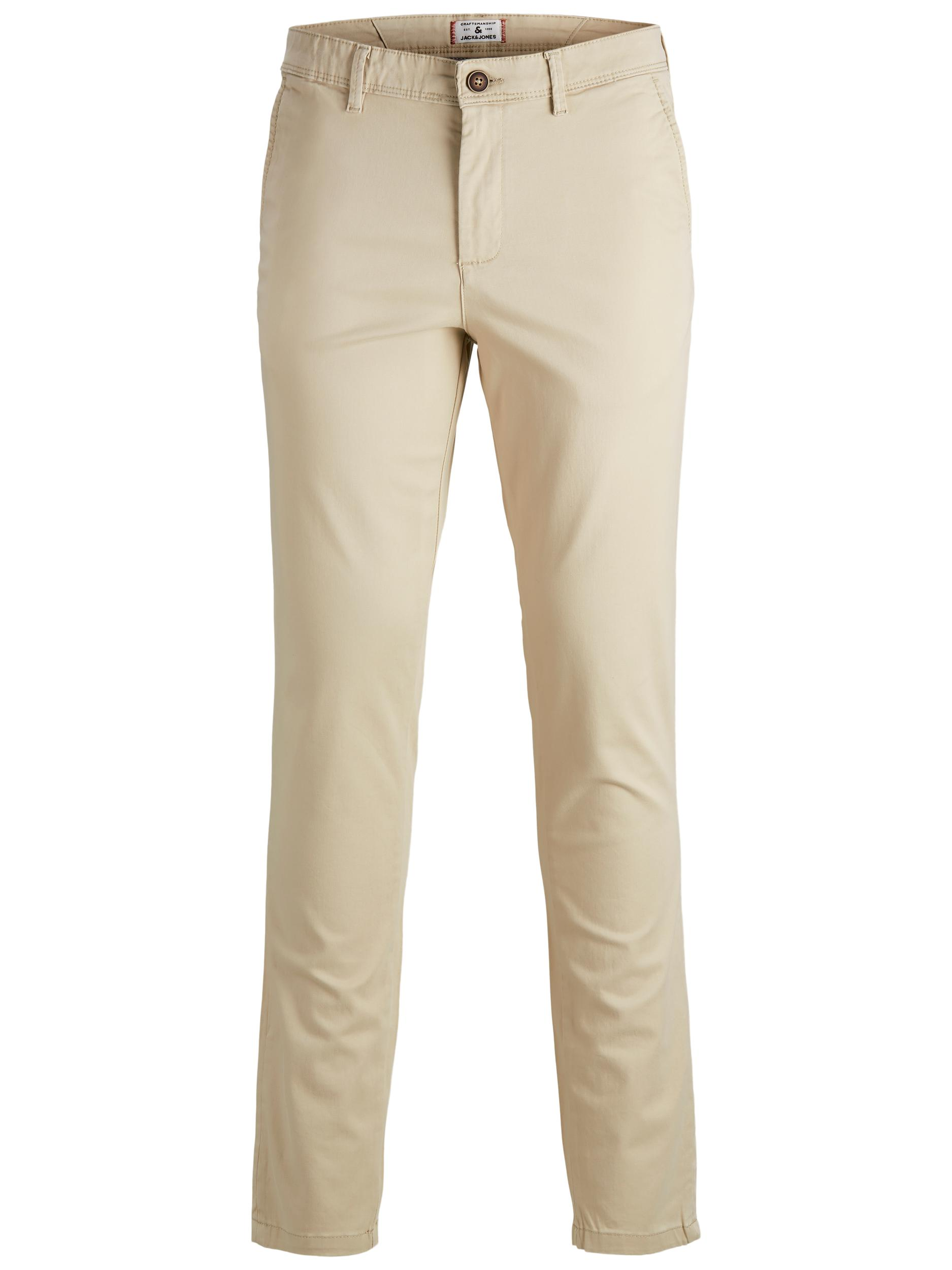 Jack & Jones Marco Bowie chinos, white pepper, 30/34
