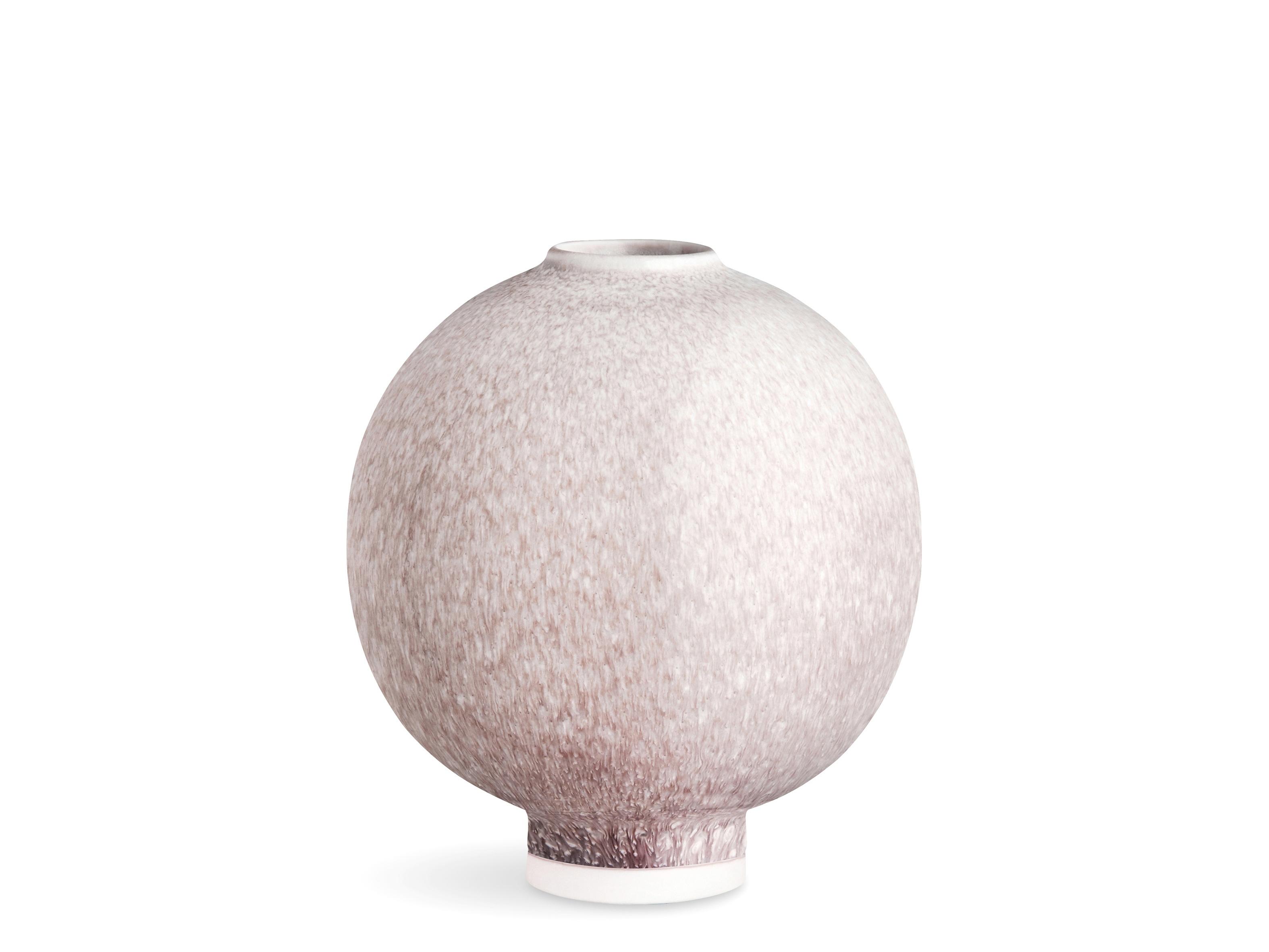 Kähler Unico vase, 12,5 cm, rosa