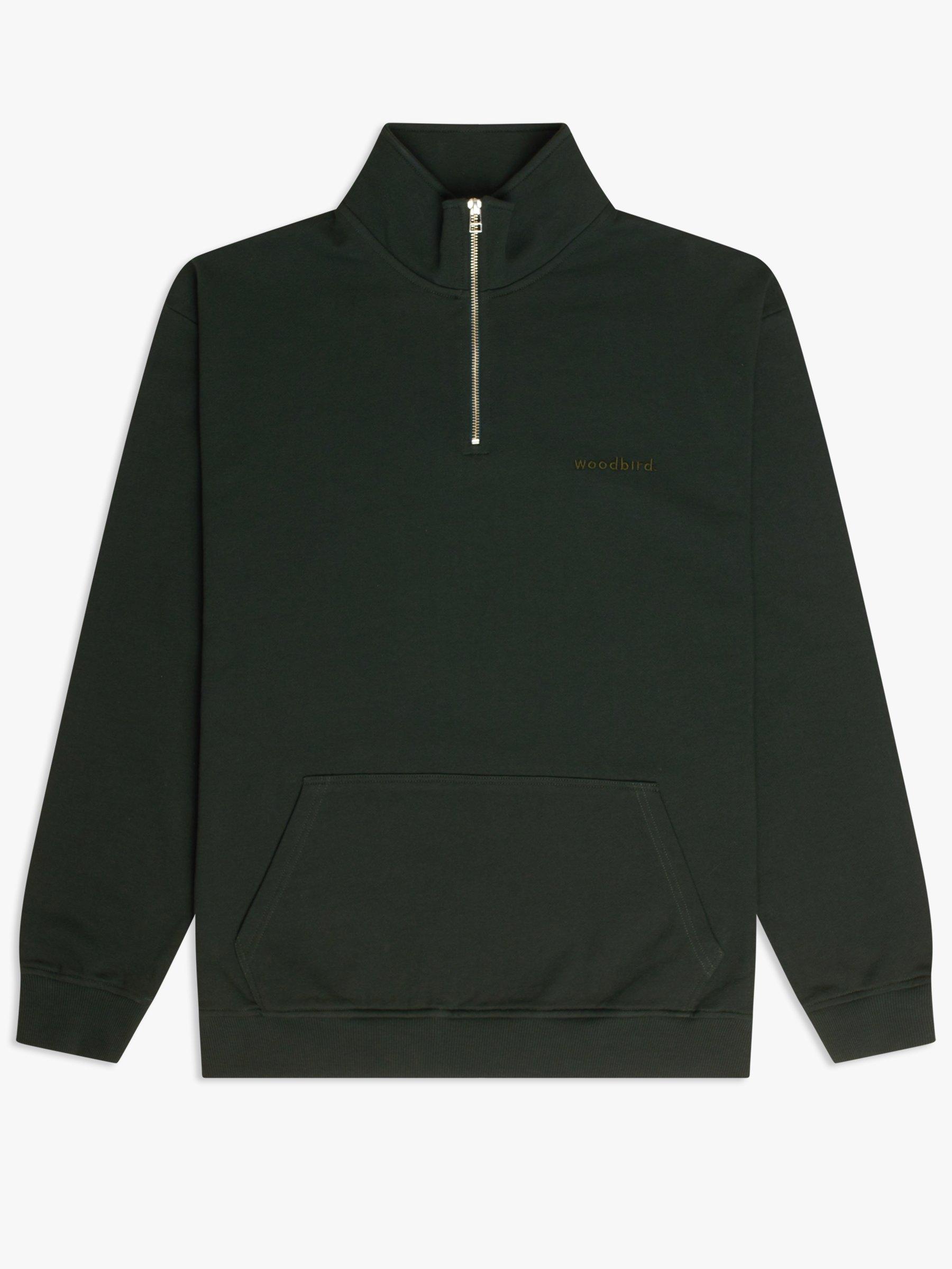 Woodbird Lass Base half-zip sweatshirt