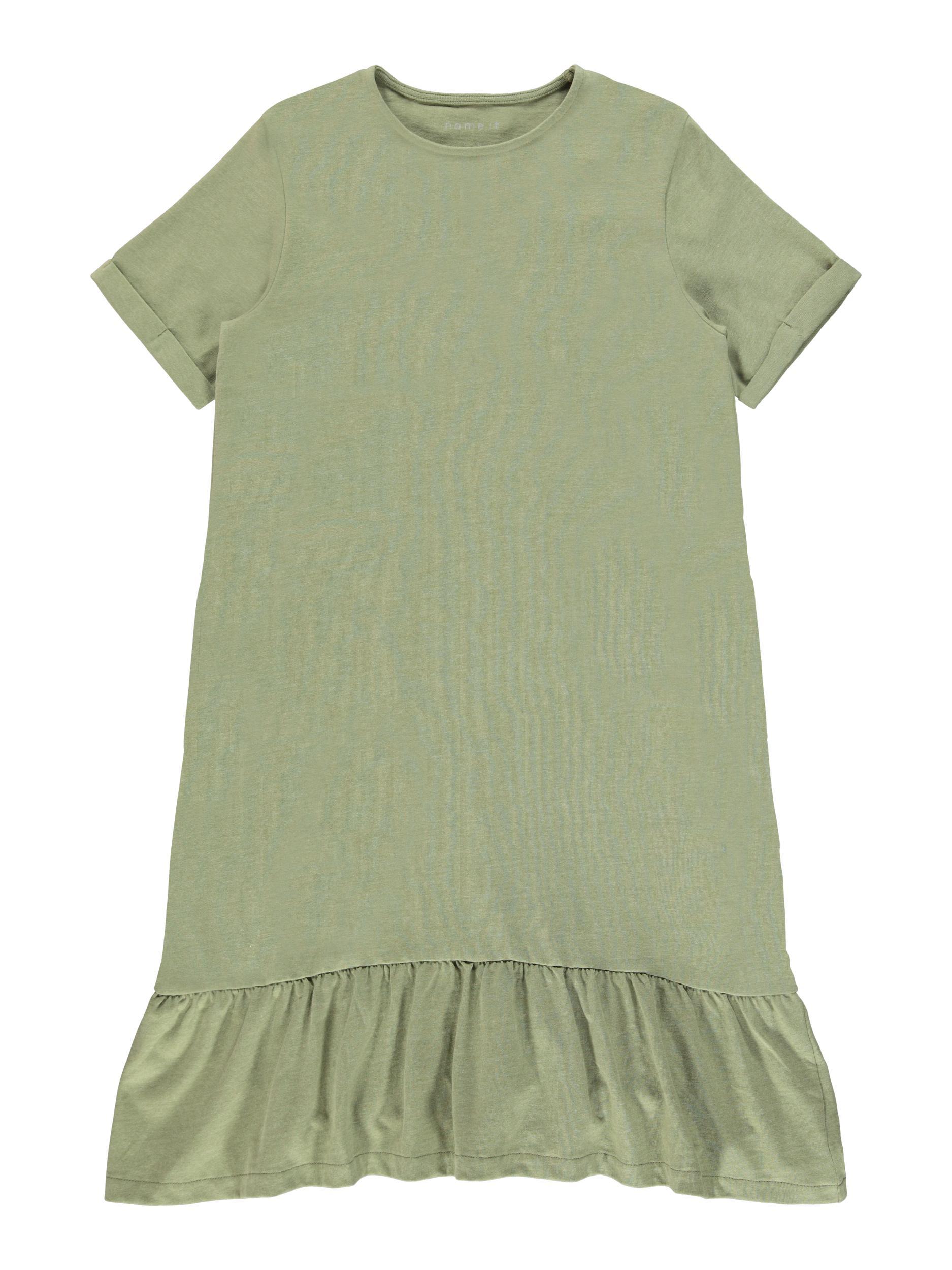 Name It Hadeel kjole, deep lichen green, 122